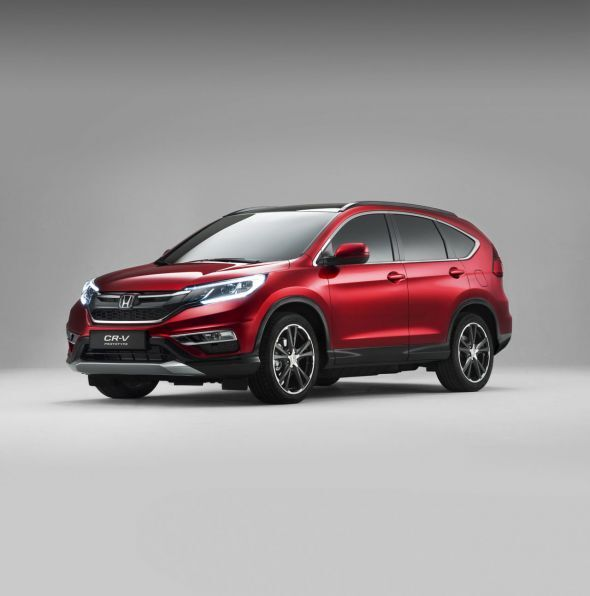 Ford C Max 5 Seater >> Next Generation 2017 Honda CR-V Will Be A 7-Seater - Art of Gears