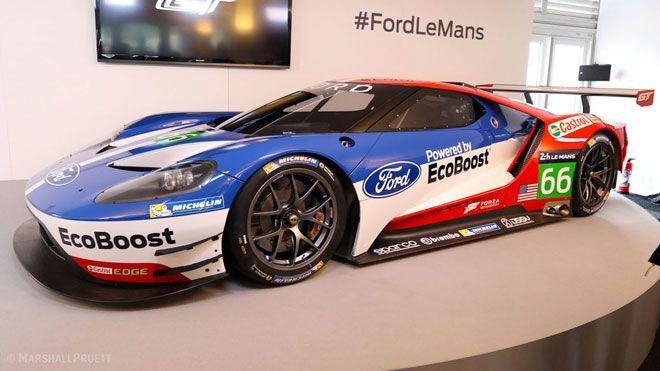 Ford Gt Le Mans Race Car Photo Youtube