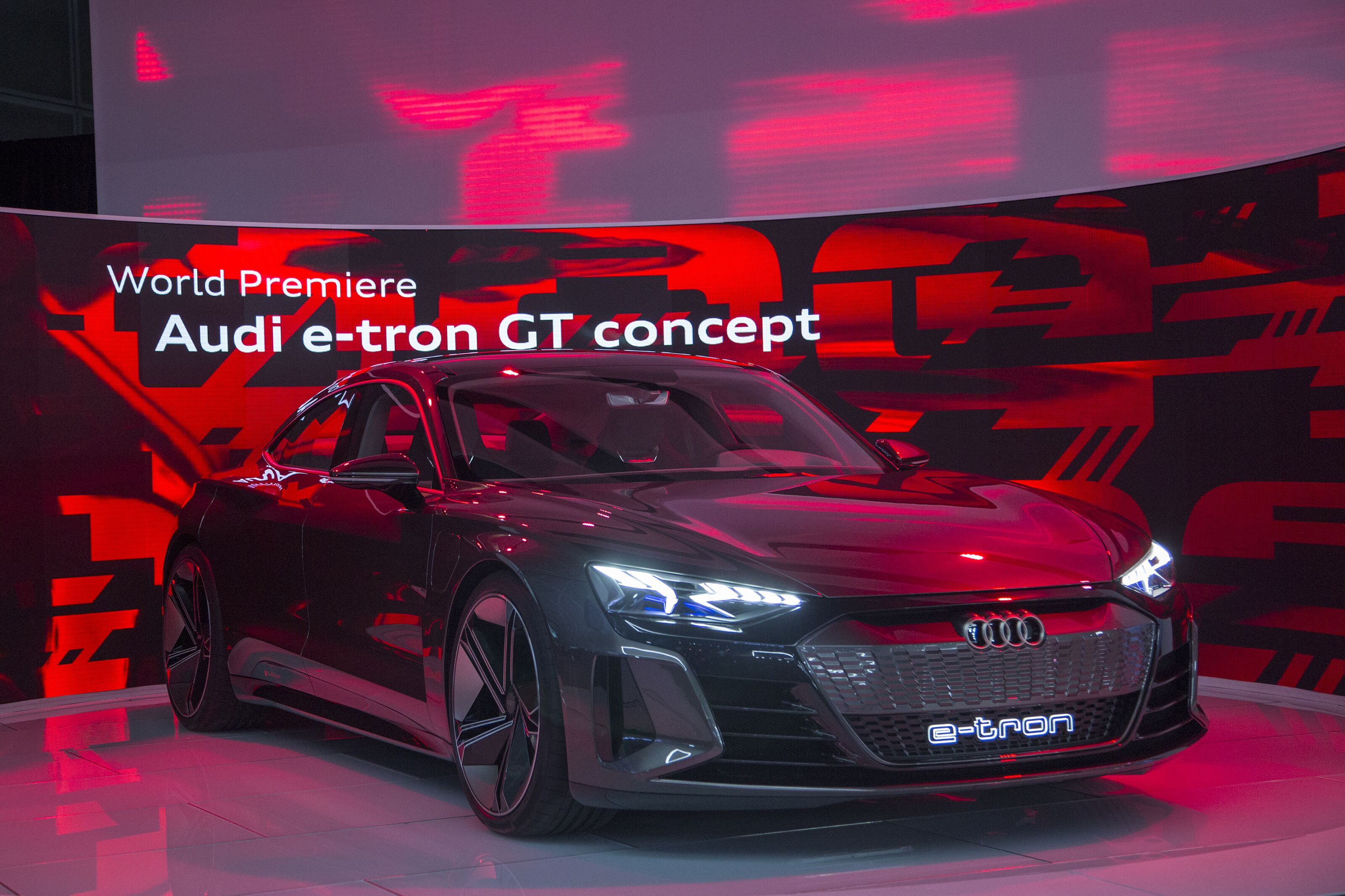 Audi e-tron GT Coming in 2020