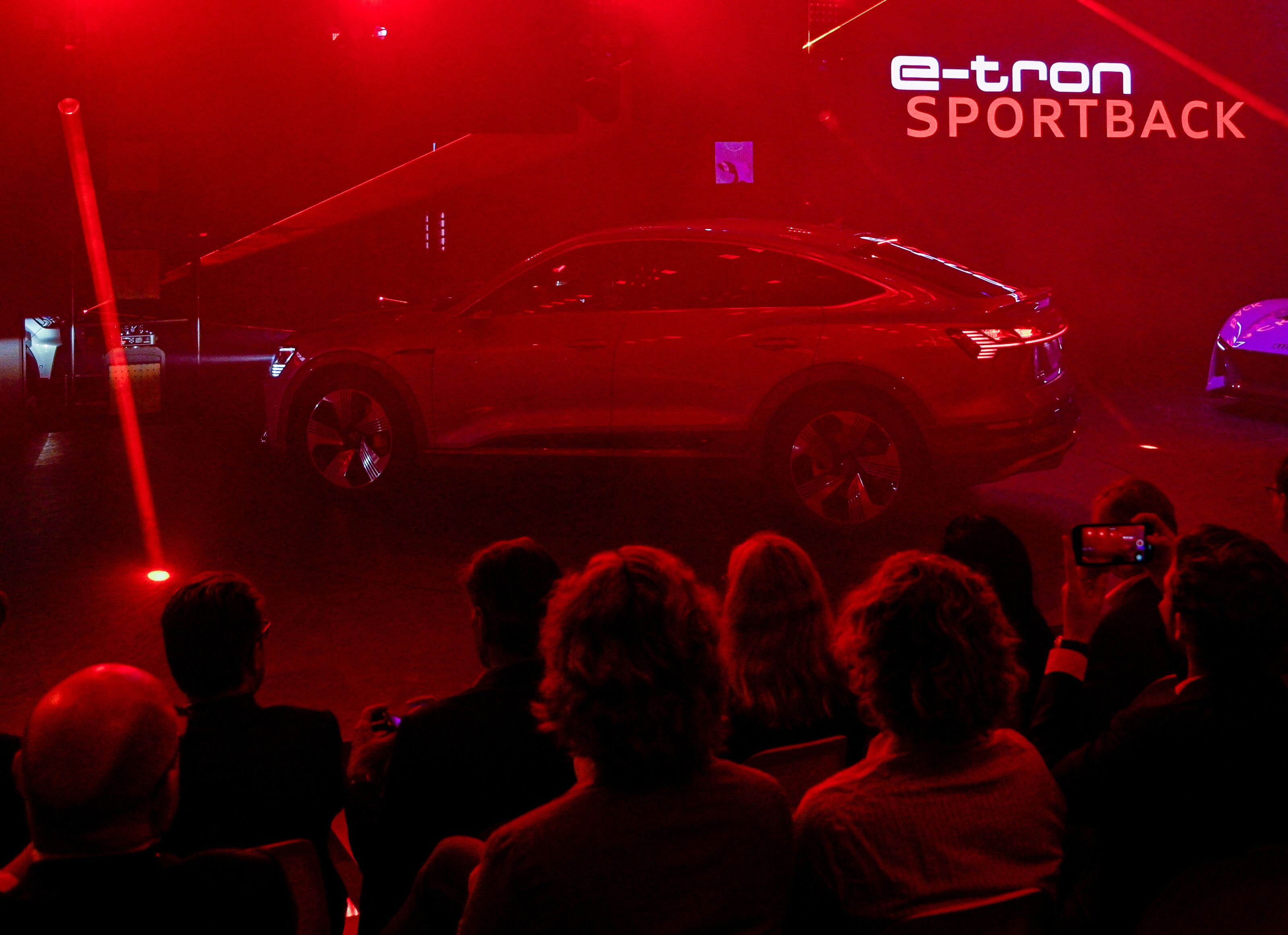 Audi Responds to the Mustang Mach-E with the e-tron Sportback