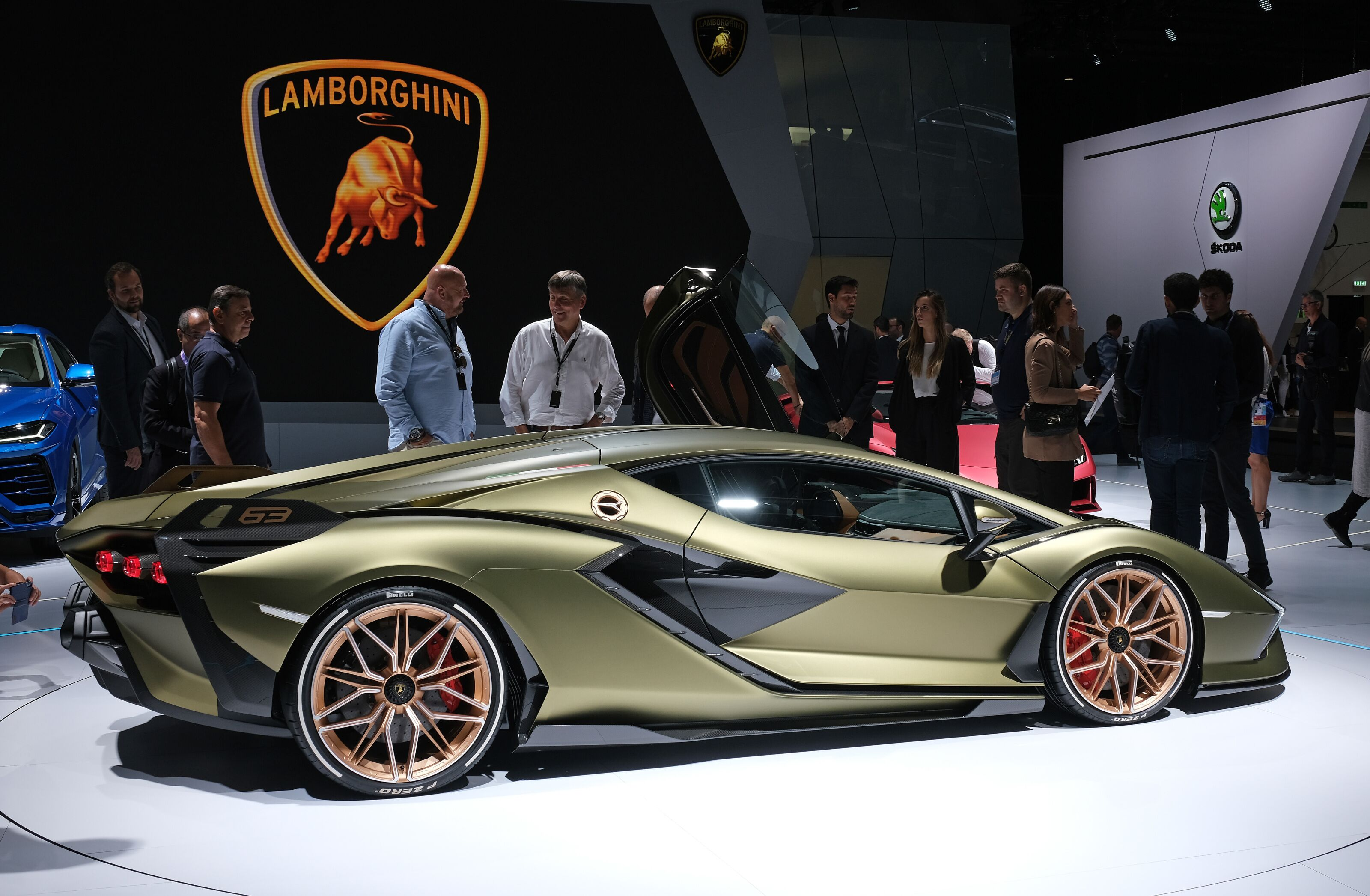Not a Drill: Lamborghini Teases Another New V12 Hypercar