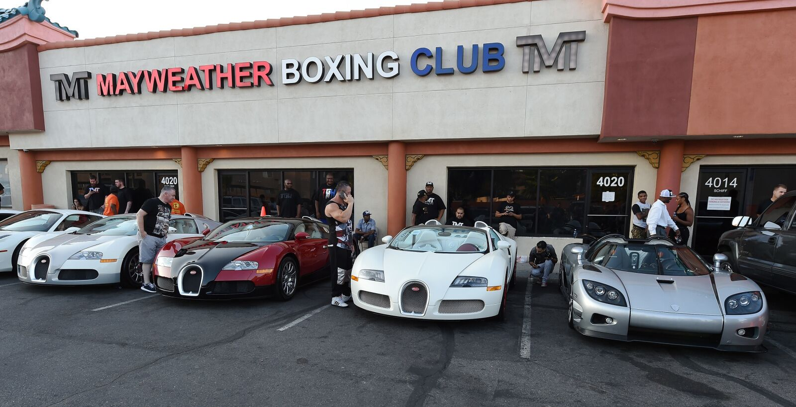 Floyd Mayweather's Best Three Rides in His Stupendous Motor Miscellany