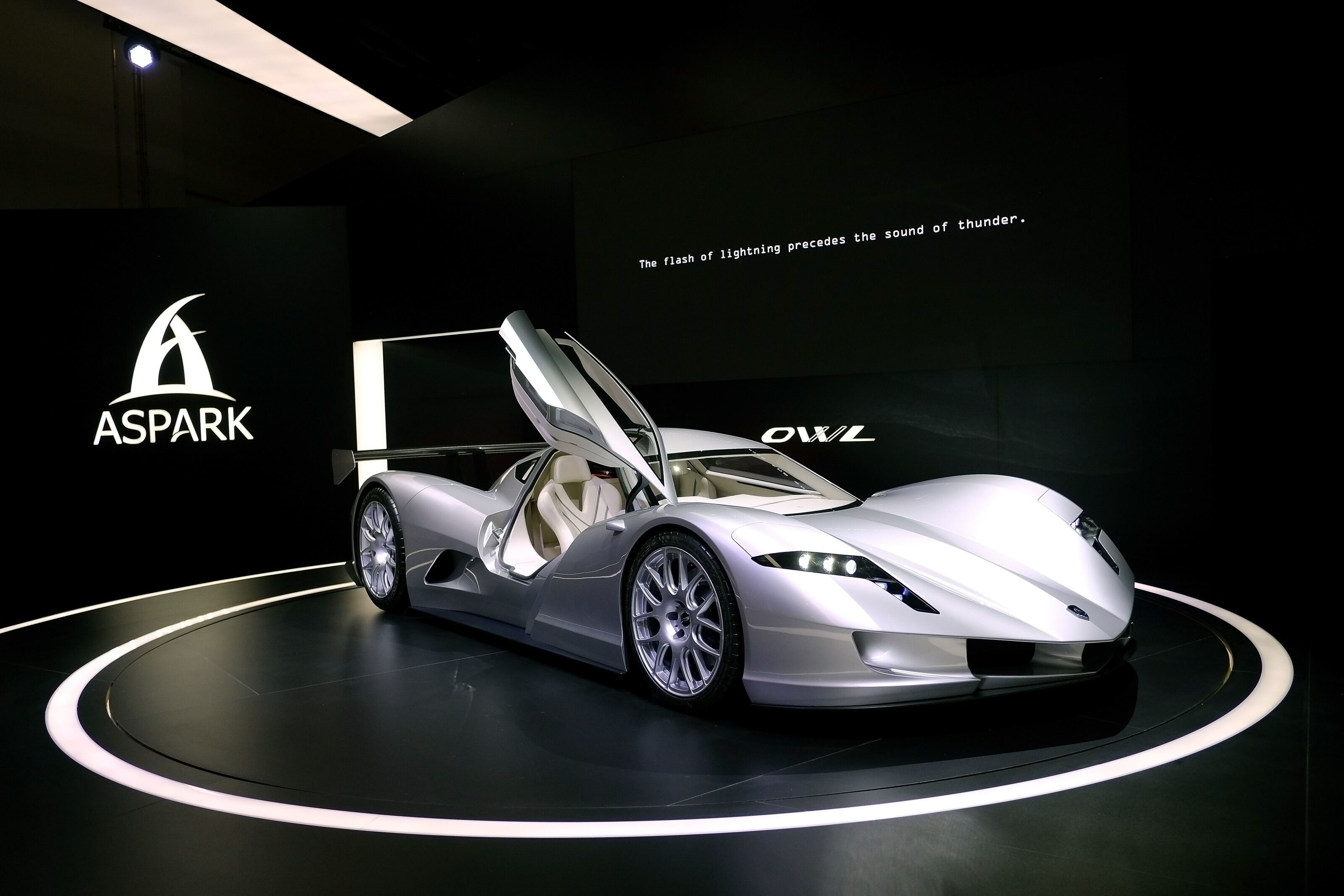 The All-Electric Japanese Hypercar with 2000 Horsepower: Meet the Aspark Owl