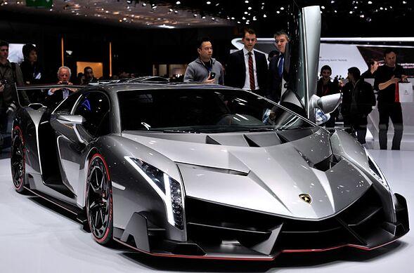 Ultra-Rare Lamborghini Veneno Coupe For Sale At $9.4 Million