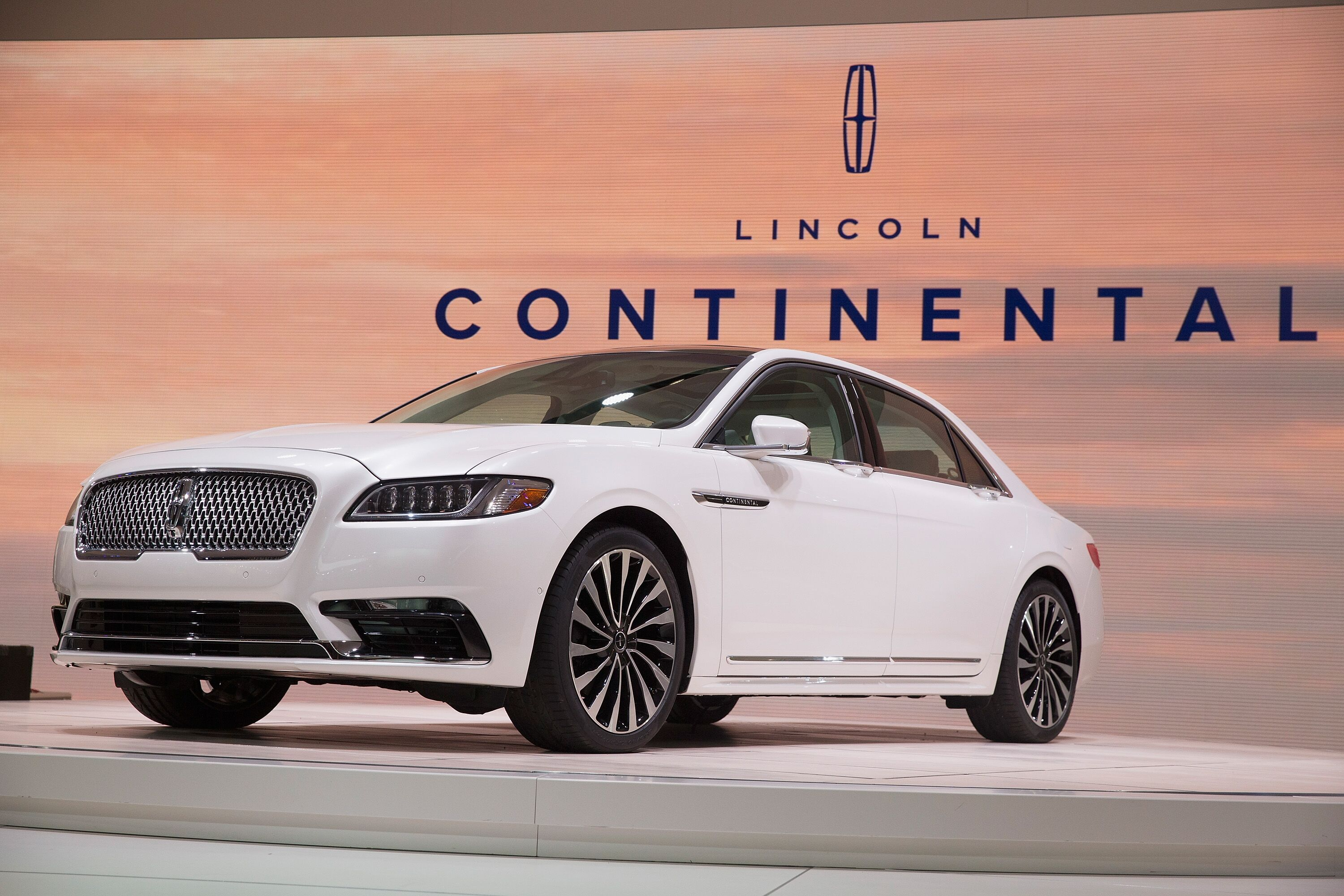 The Lincoln Continental Limited Edition with Suicide Doors