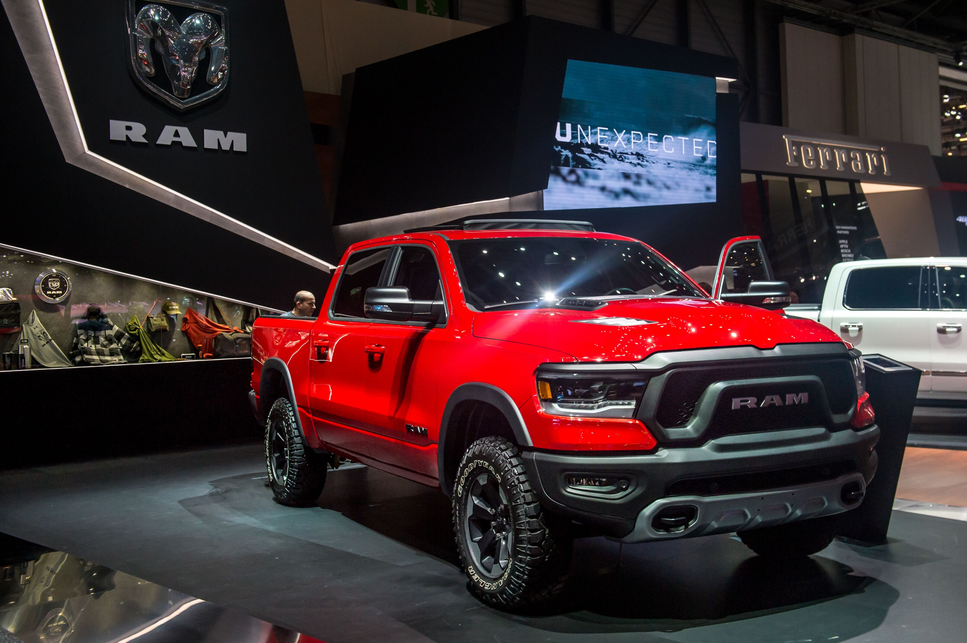 production ram rebel trx to have two different engines. Black Bedroom Furniture Sets. Home Design Ideas
