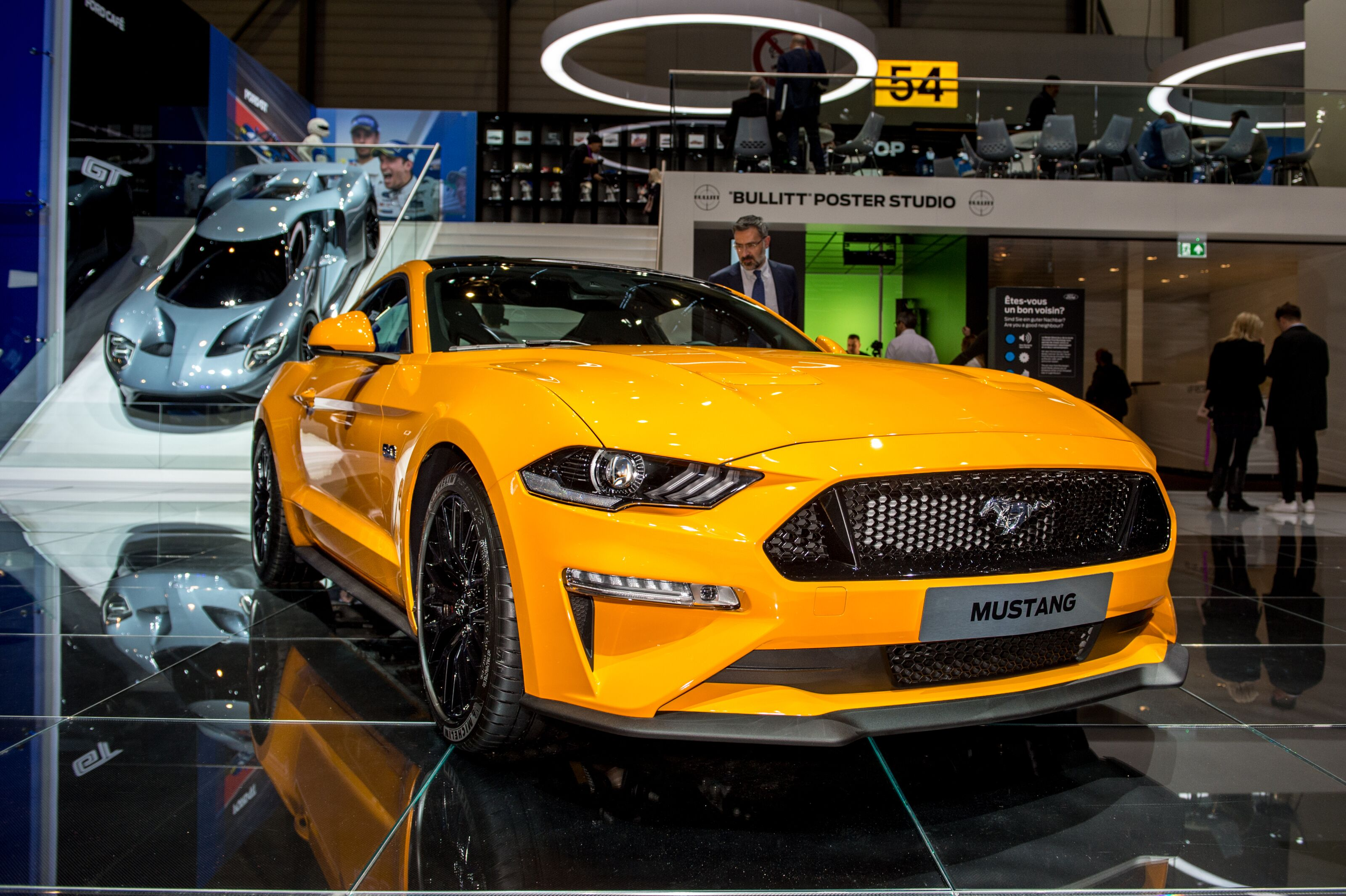 I would be surprised if the huge automaker didnt build a four door ford mustang at some point my first reaction to the idea is to yell no