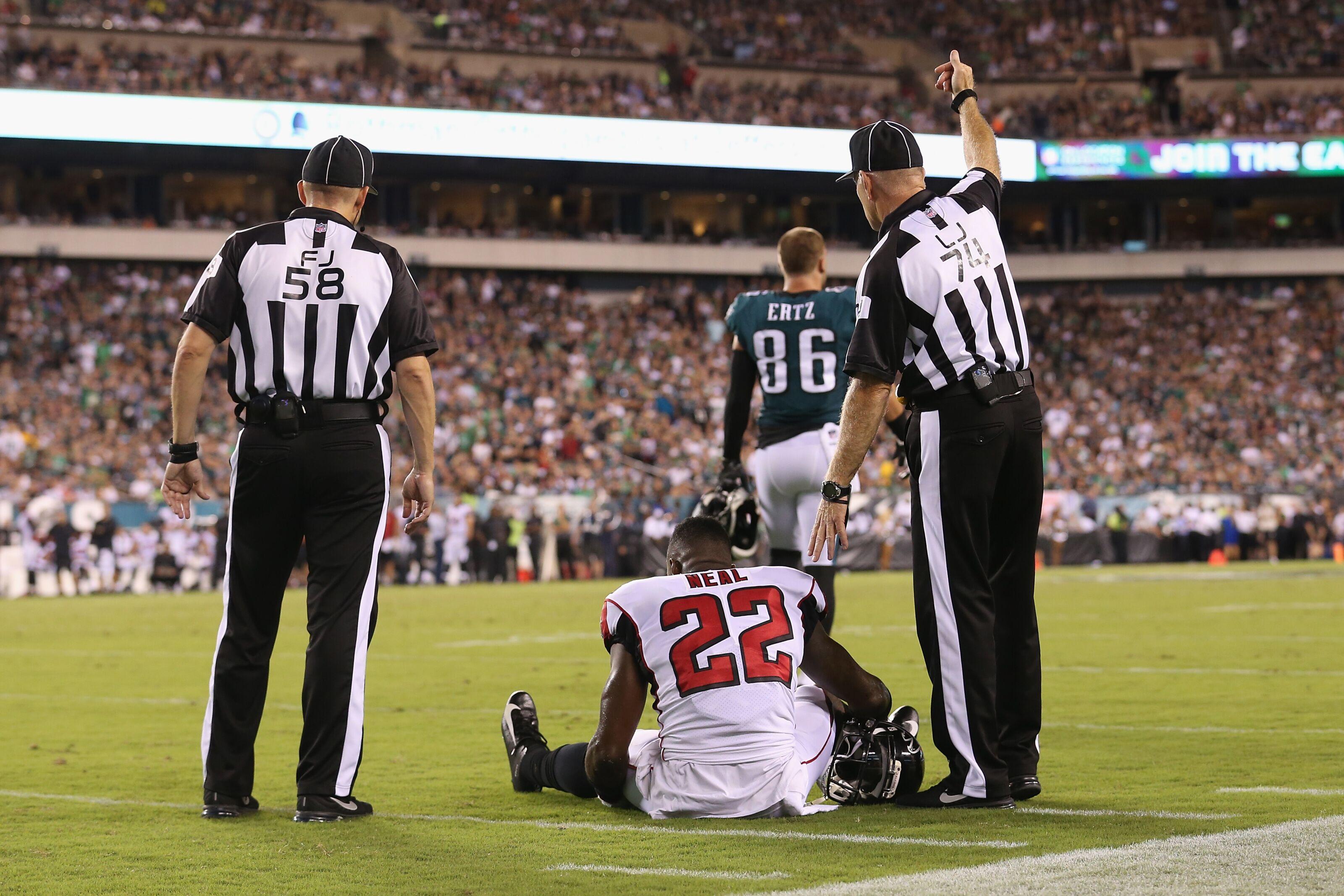 newest 2562d 89263 Atlanta Falcons: Replacing Injured Safety Keanu Neal