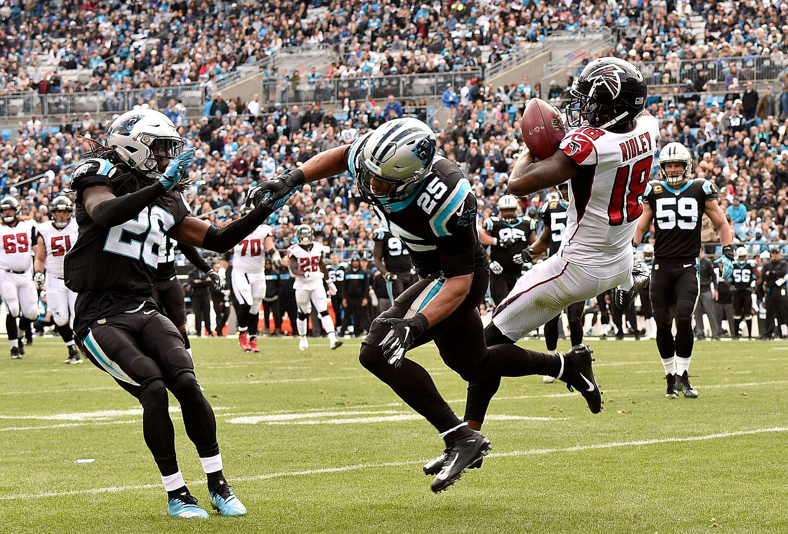 Atlanta Falcons Vs Carolina Panthers  Four Players Who Flew High and ... 0ffaae5ca