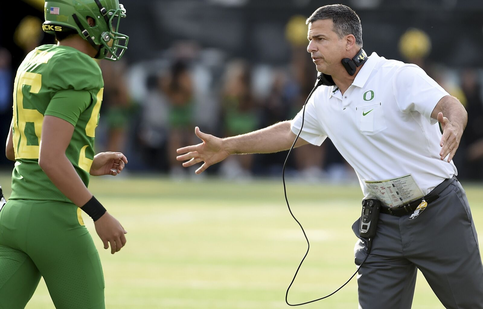 Oregon Football: Mario Cristobal Focused On Longer Term Success