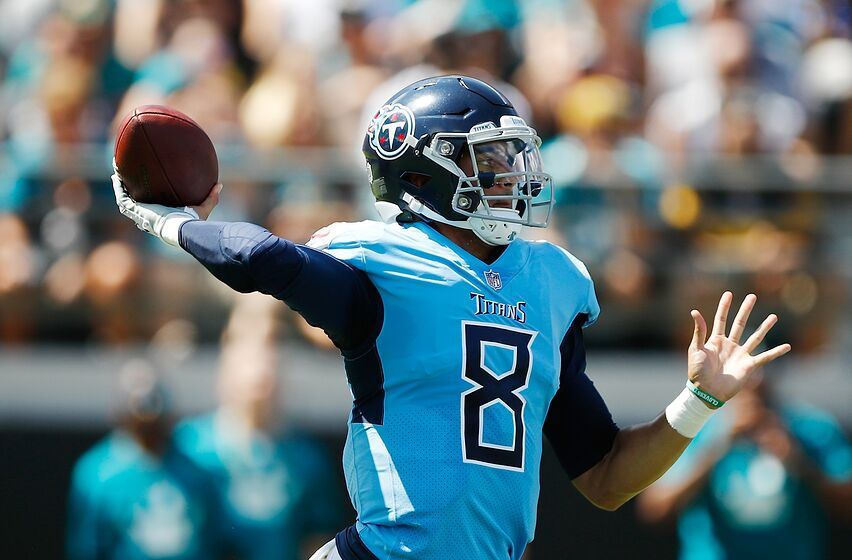 75018241 Tennessee Titans Committed To Marcus Mariota For The Long Term
