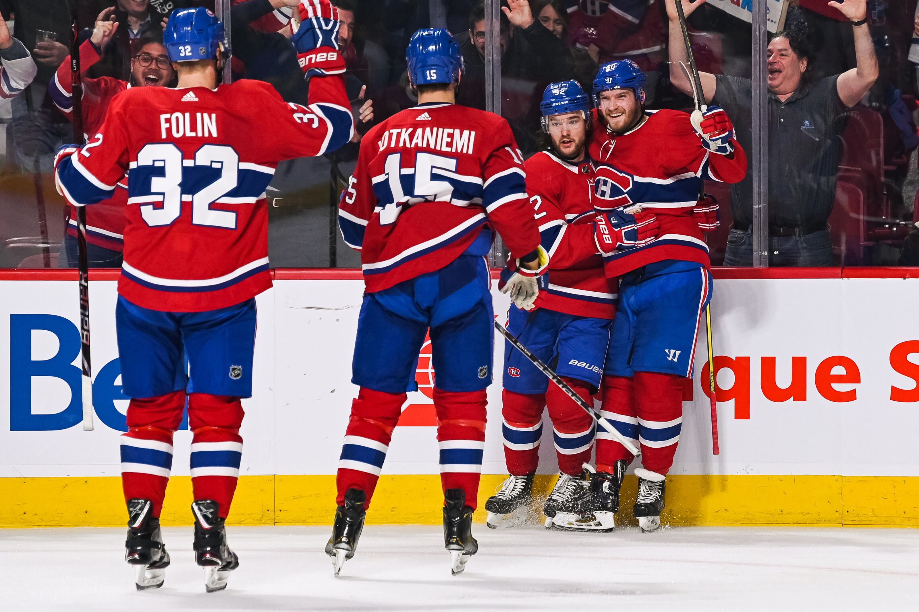 The Montreal Canadiens and Jonathan Drouin returned to form