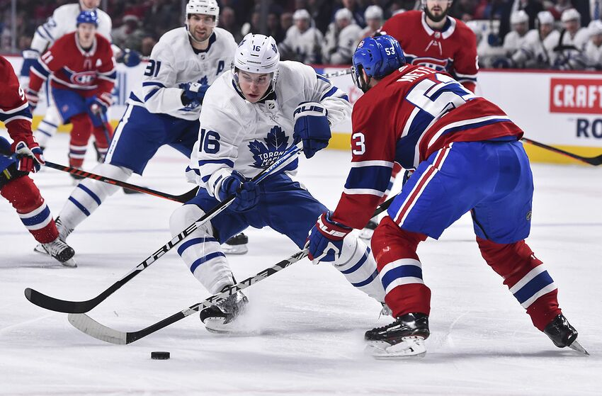 Montreal Canadiens Can't Consider Offer Sheet For Mitch Marner