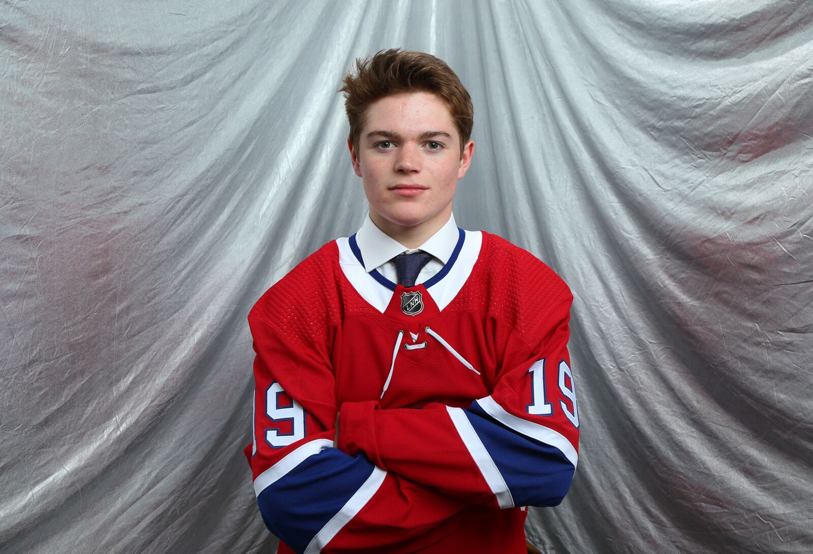 Montreal Canadiens Cole Caufield has a new number for the season