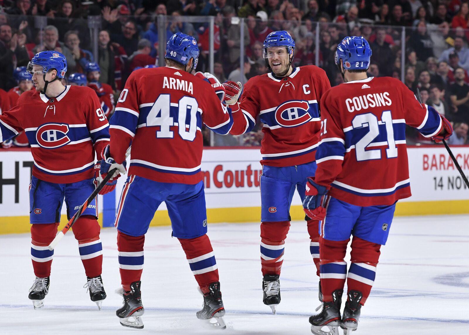 Montreal Canadiens Hot Streak Has Them Near Top Of Atlantic Division Power Rankings