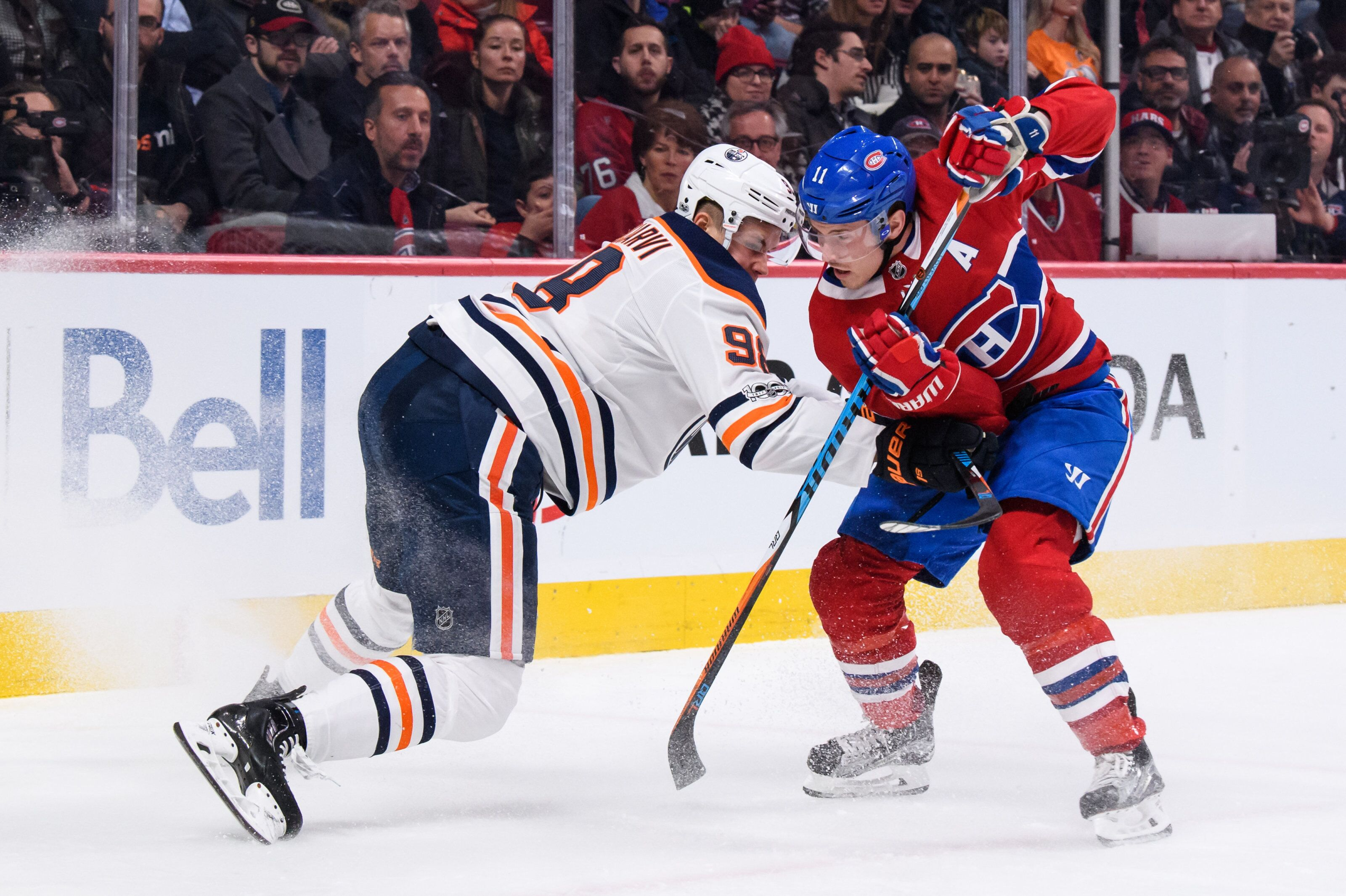 Can the Montreal Canadiens work out a trade with the Edmonton Oilers?