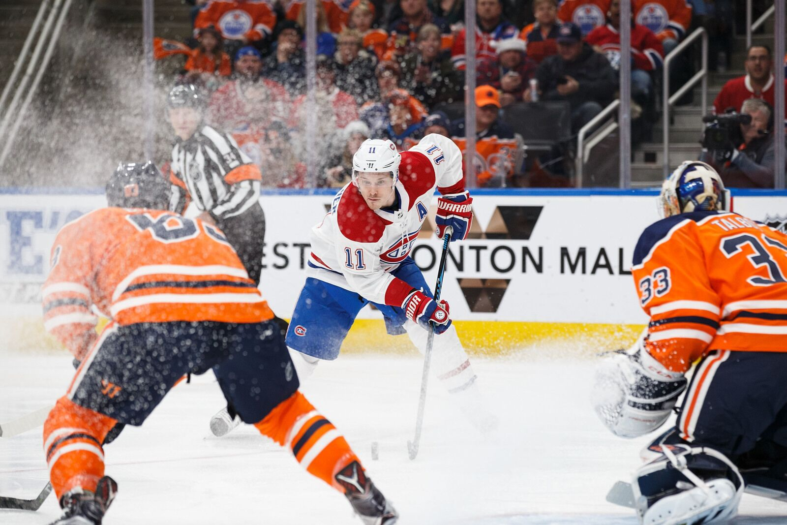 Speed vs. speed with the Montreal Canadiens and Edmonton Oilers