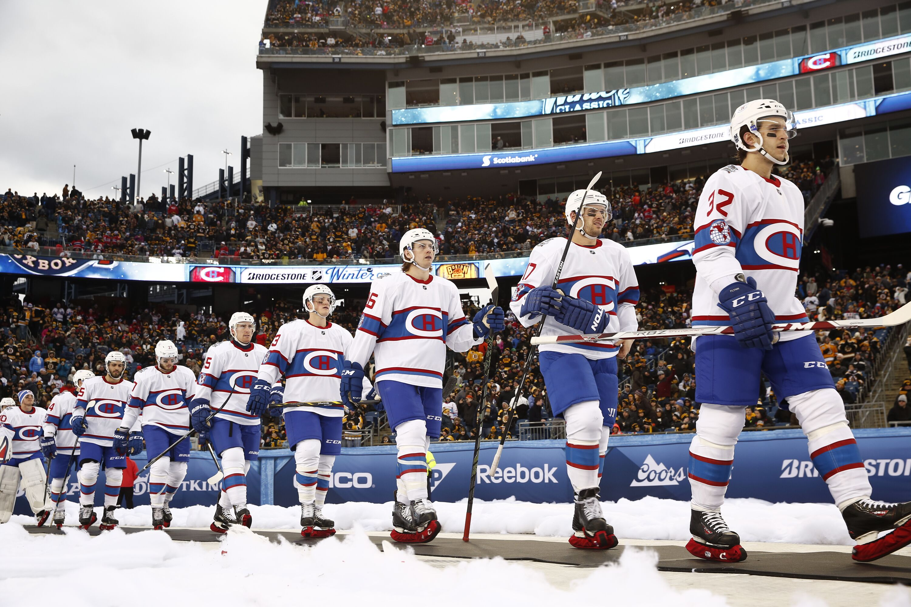 Montreal Canadiens  Uniforms for the NHL100 Classic Game 6393632abcc