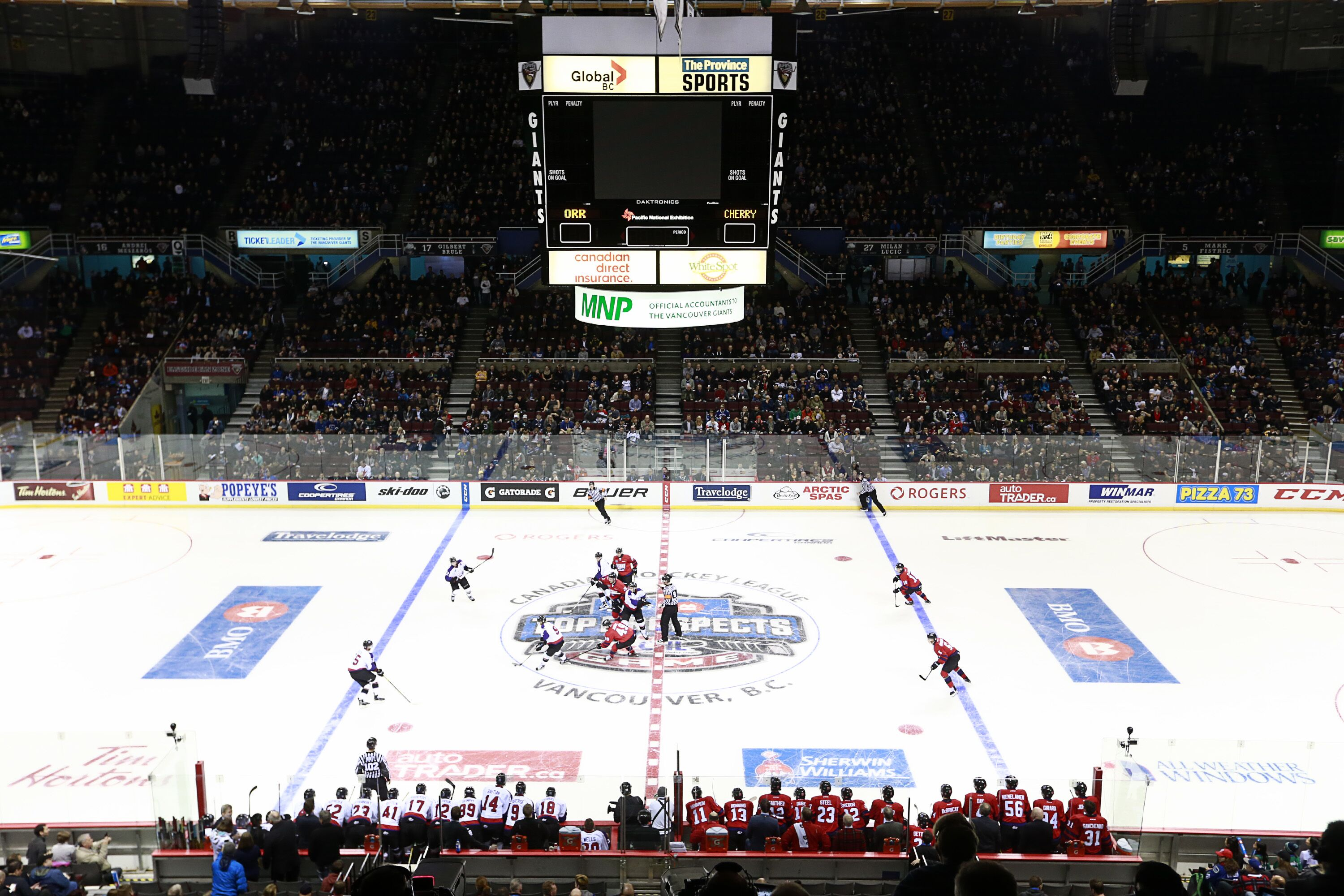 Montreal Canadiens  Interest in the CHL NHL top prospect game 99490762f