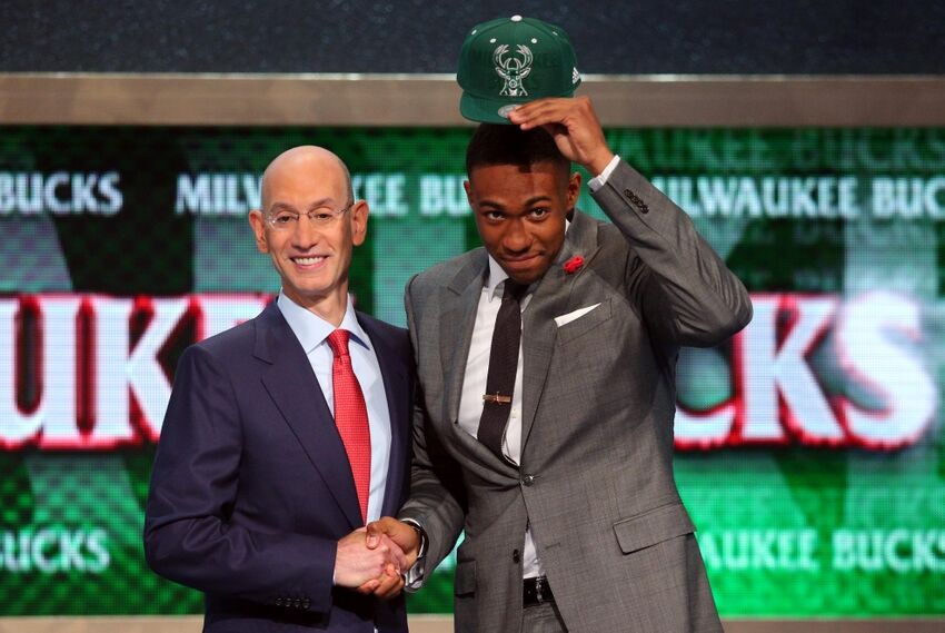 Jabari Parker drafted as the No. 2 pick in the 2014 NBA Draft Jabari Parker Nba Draft