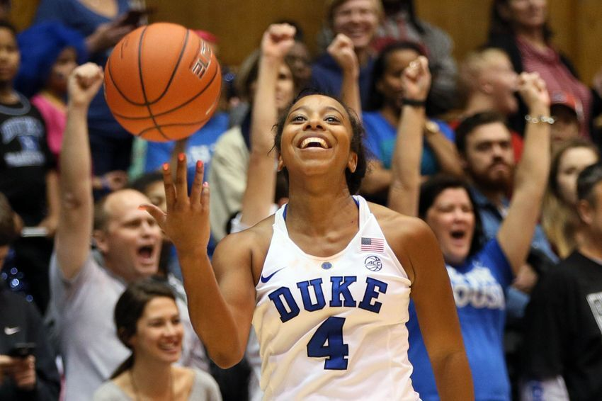 release date: 8872d 1af76 Another Duke Women's Basketball Player Reaches 1,000 Career ...