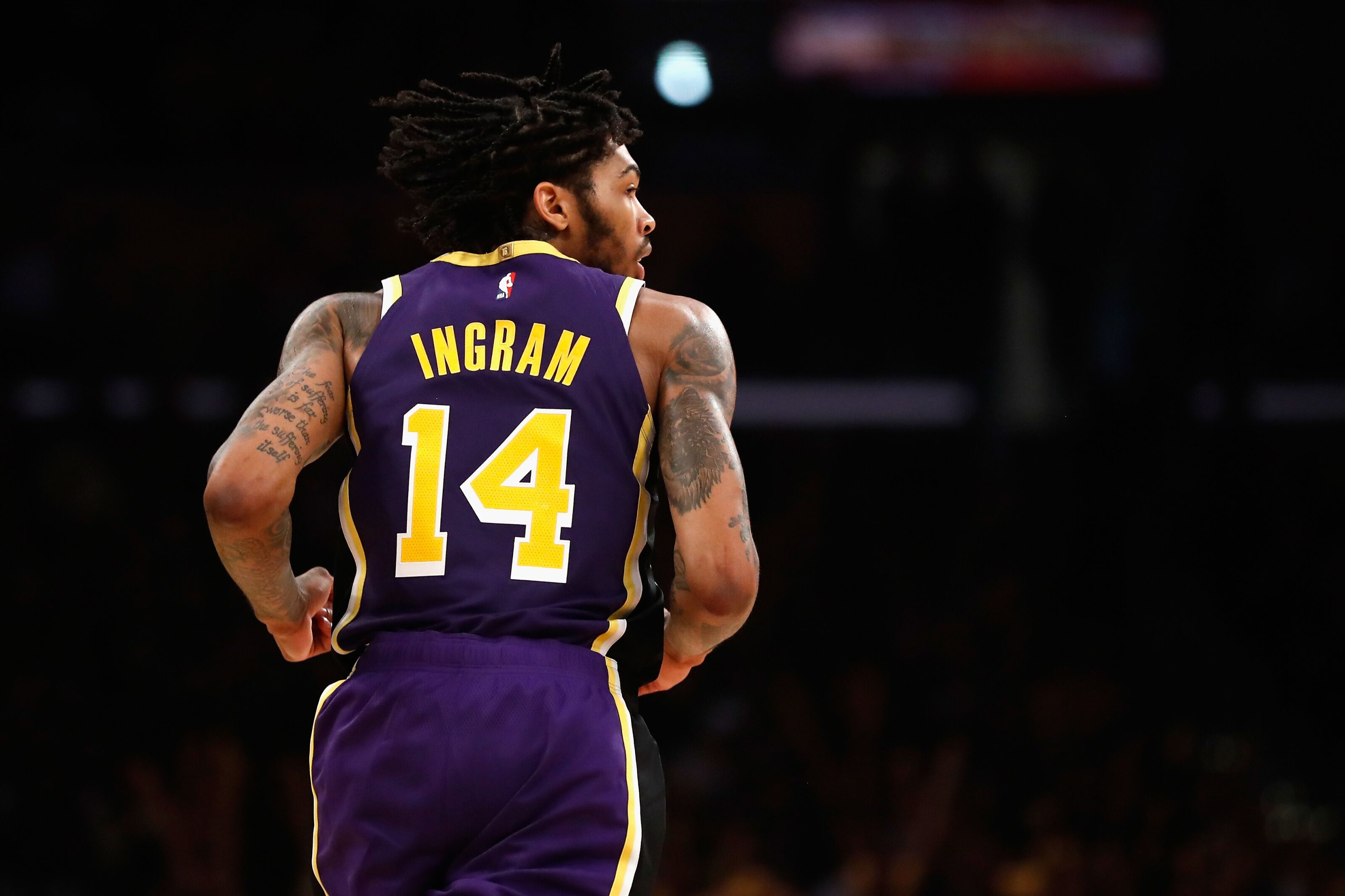 sports shoes d682c 6be7e Duke Basketball: Brandon Ingram shines in return to Lakers ...