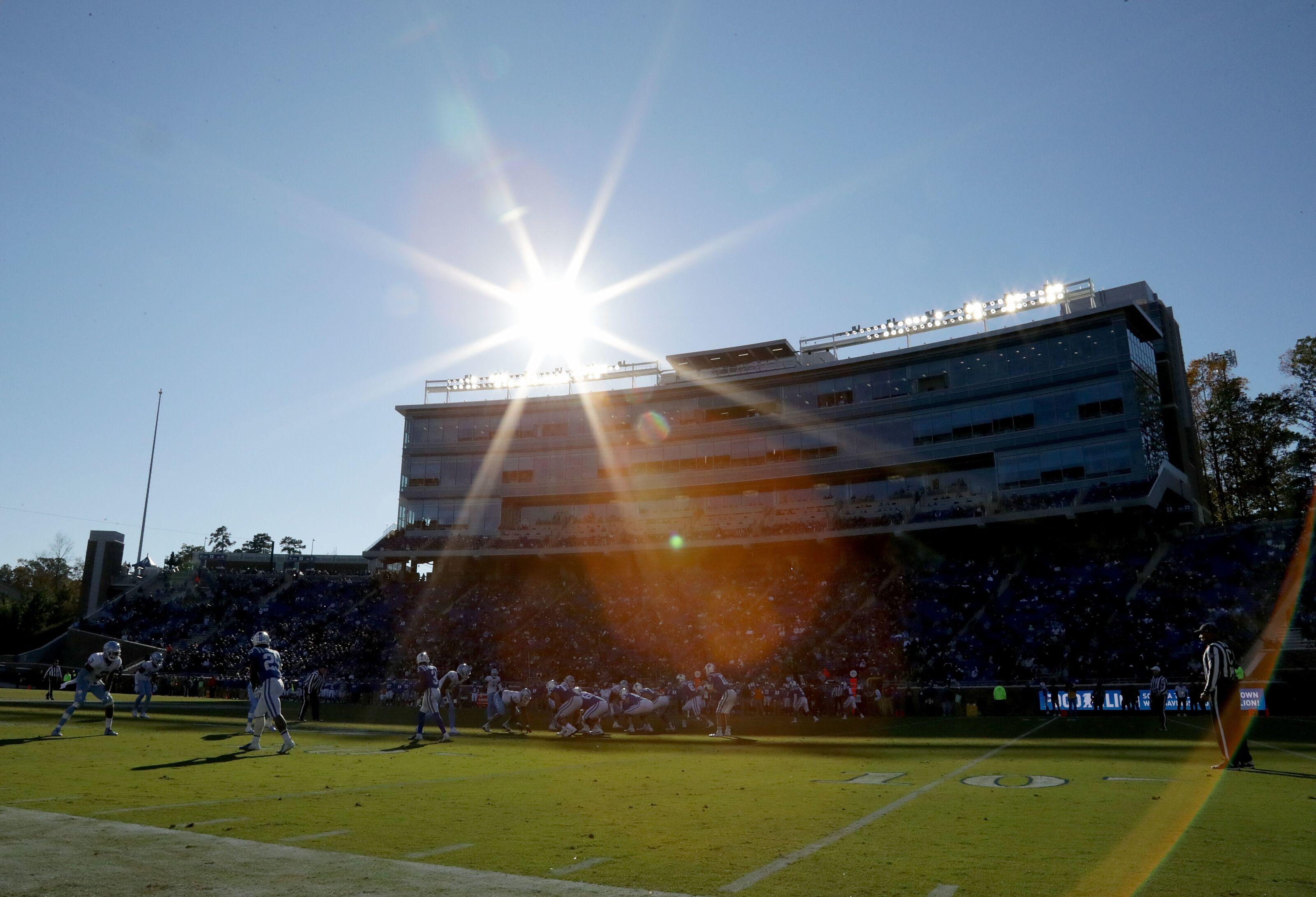Duke Blue Devils, North Carolina Tar Heels set for mid-afternoon kickoff