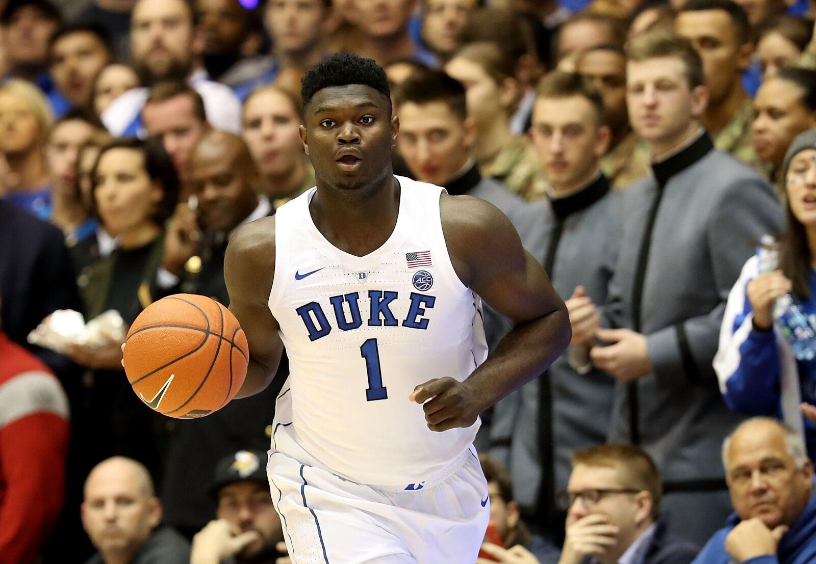 Duke Basketball: Zion Williamson sweeps ACC weekly honors