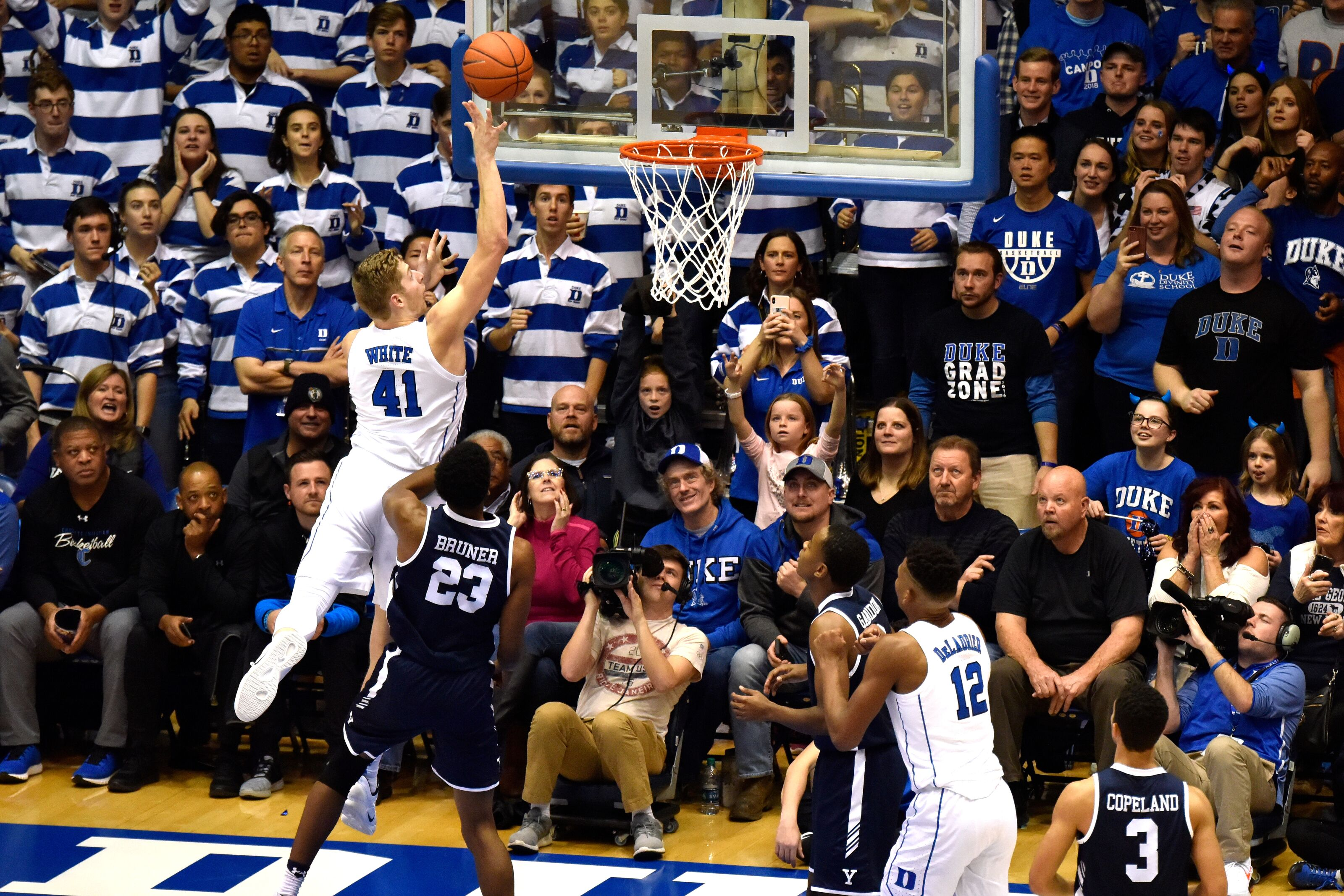 d6398b422070 Duke Basketball  Blue Devils roll into bye week with win over Yale
