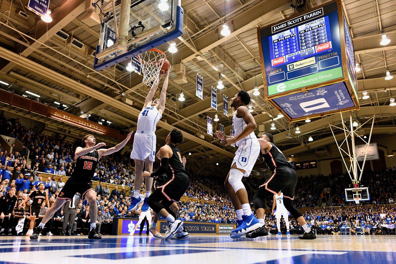 Duke Basketball Jack White As Starter Could Stave Off Stagnant Starts