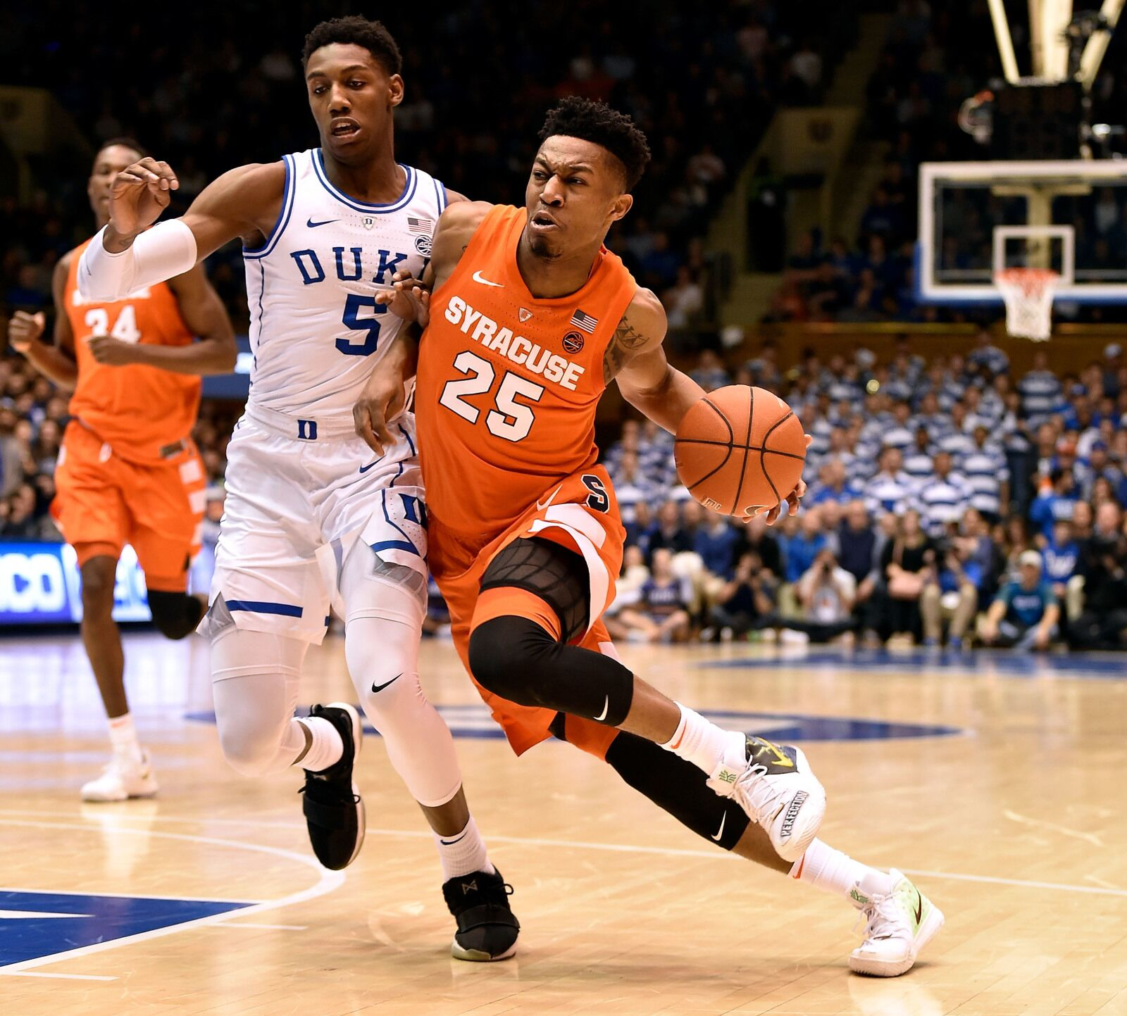 Duke Basketball Tyus Battle Still The Leader Of The Syracuse Orange