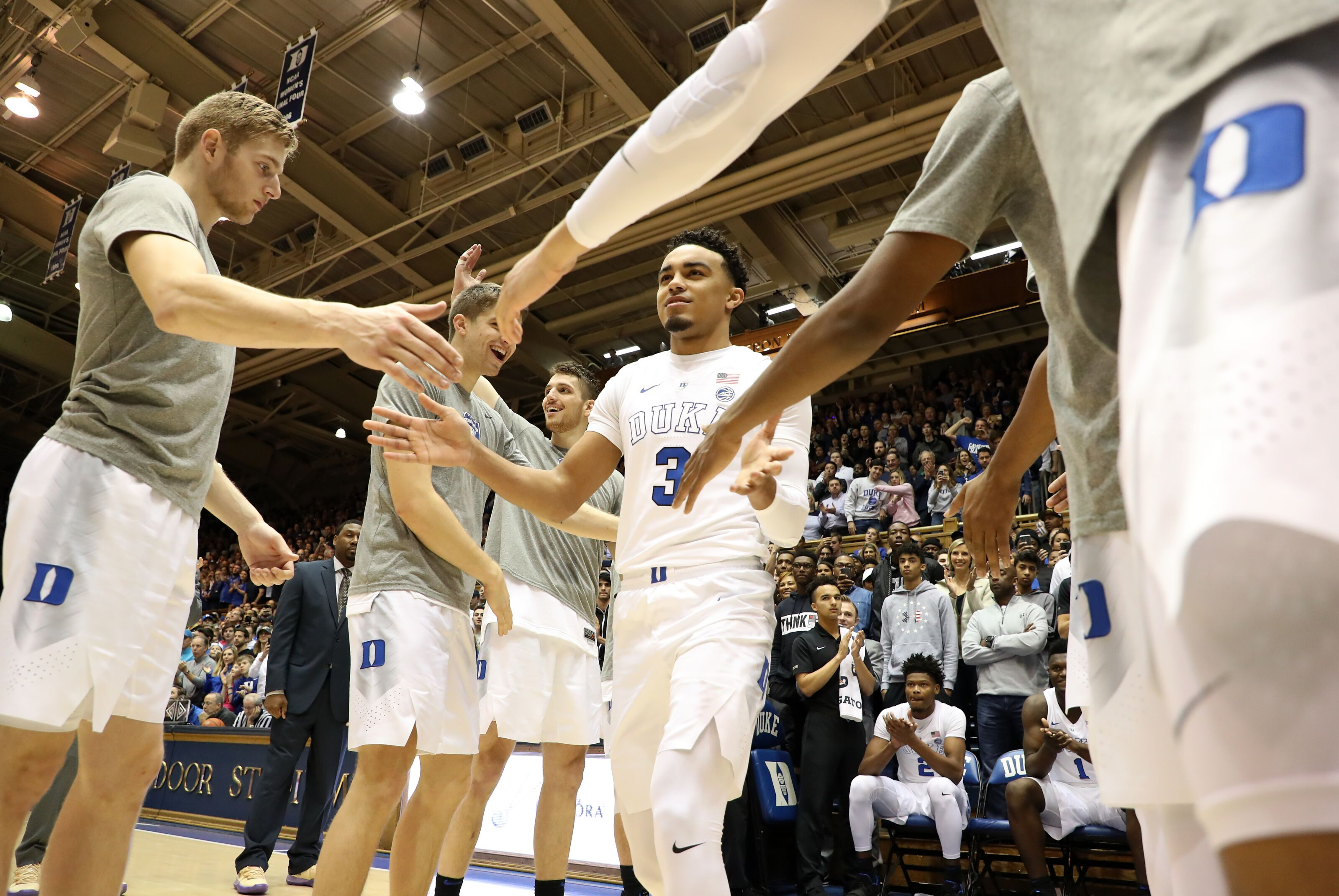 Tre Jones should be named captain alongside Javin DeLaurier, Jack White