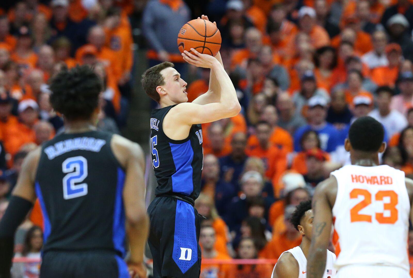 Duke Basketball Alex O Connell Arrives To Spark Revenge Win At Syracuse