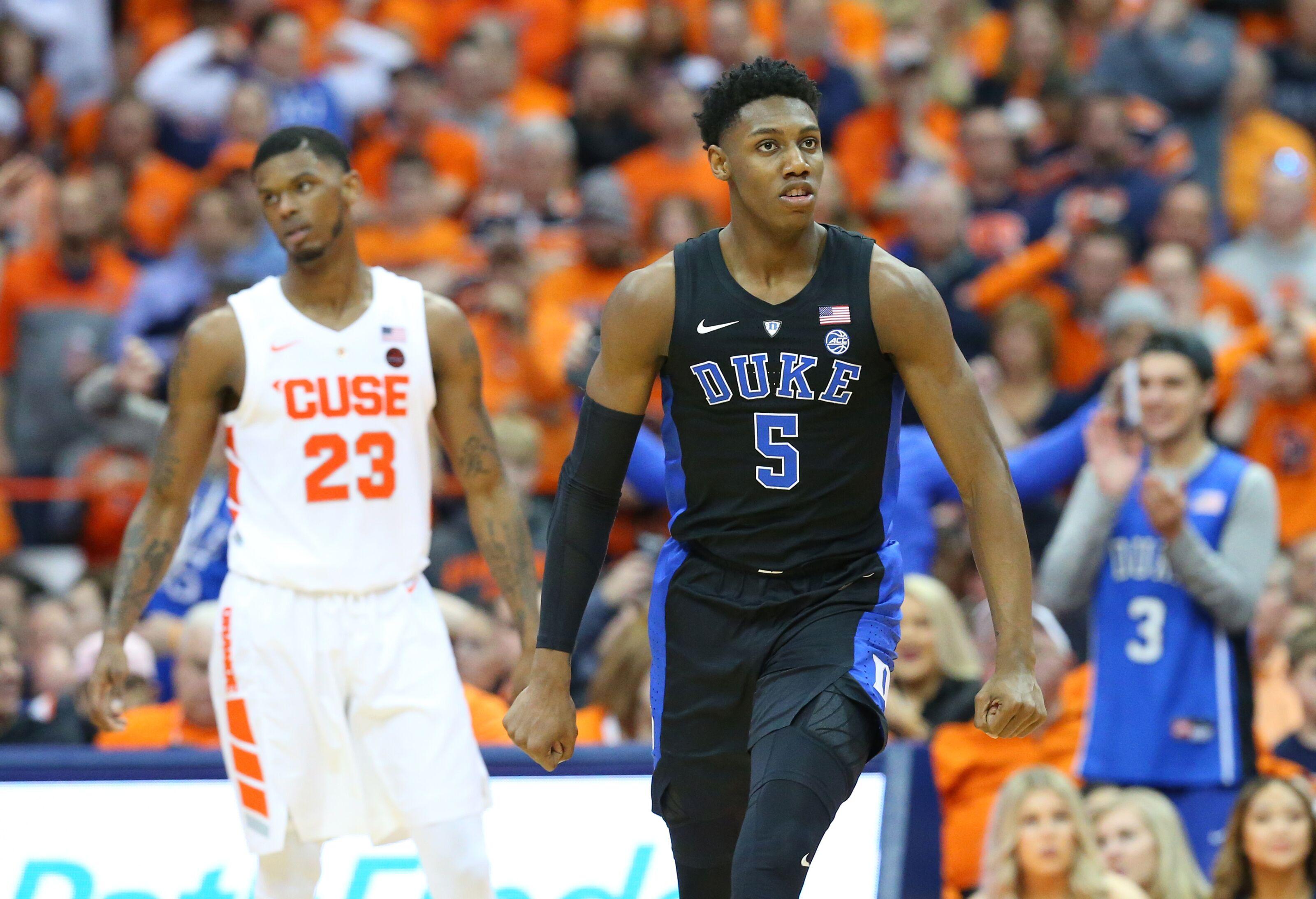 huge discount a3b2d 3d048 Duke Basketball: R.J. Barrett reminds the world he is still ...