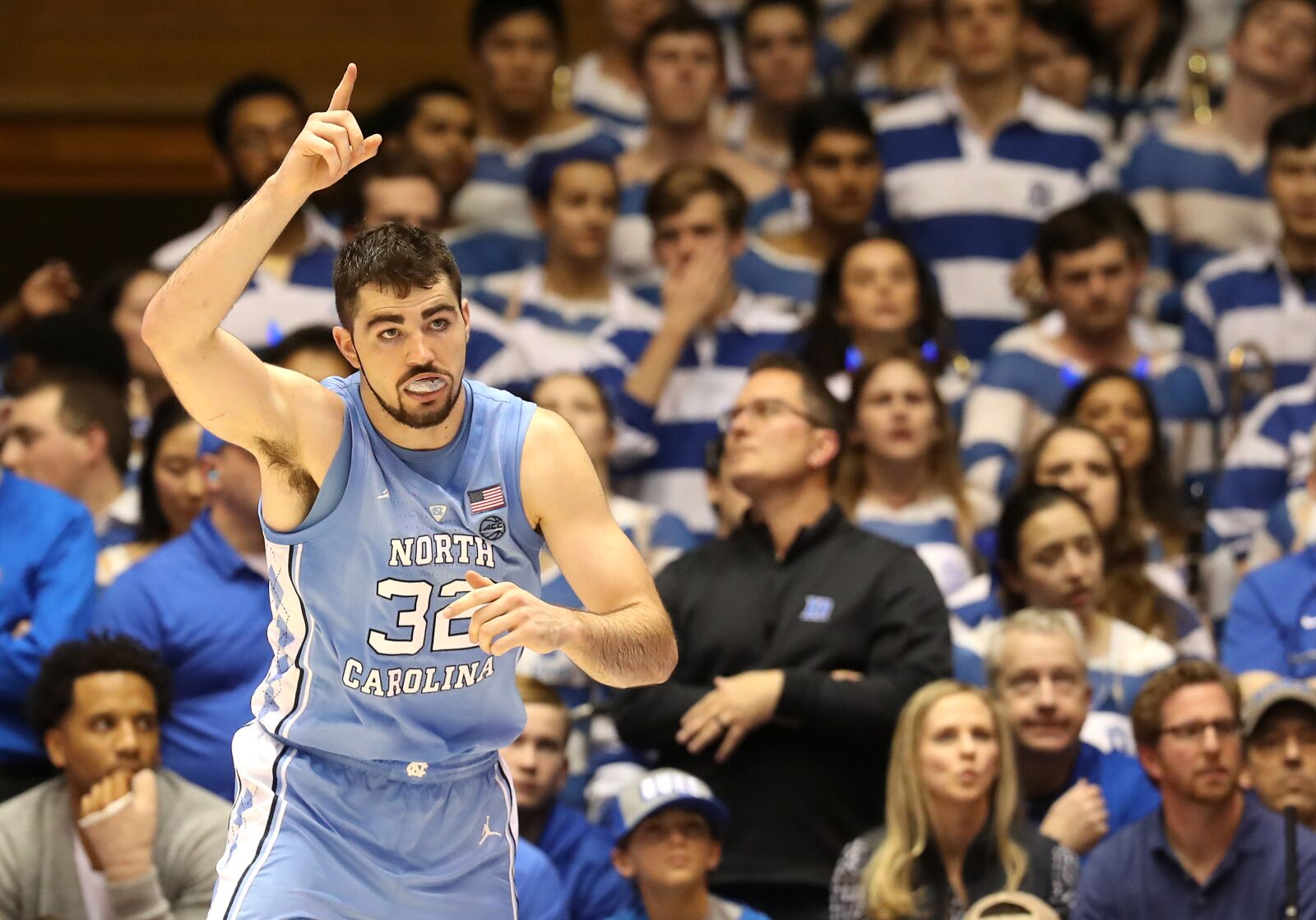 Duke Basketball: Heels will continue to feed Luke Maye in depleted paint