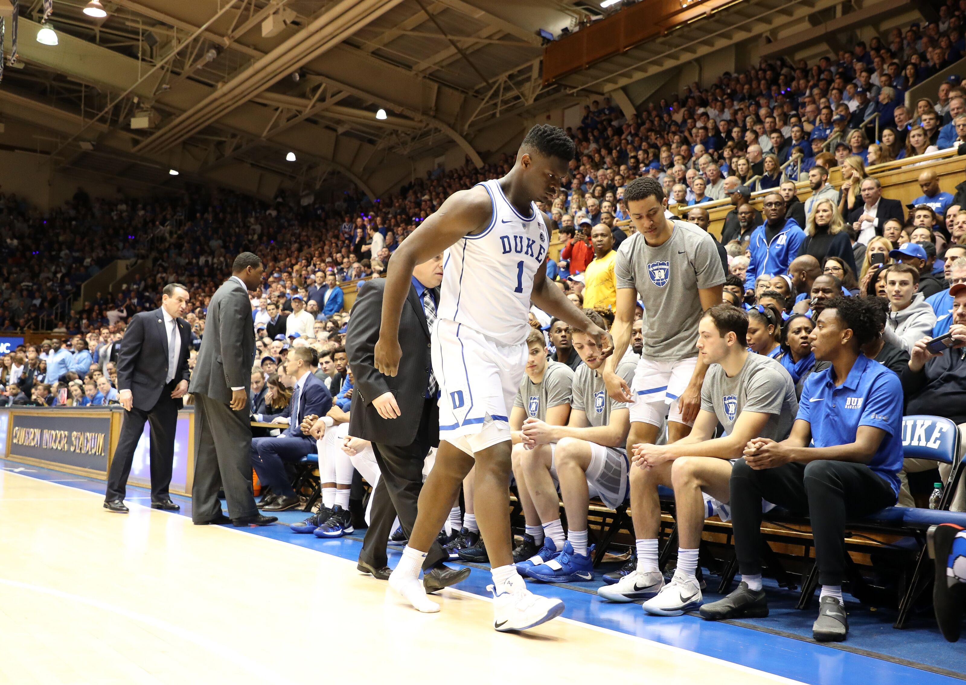 Duke Basketball Zion Williamson Will Not Play Saturday Against Syracuse