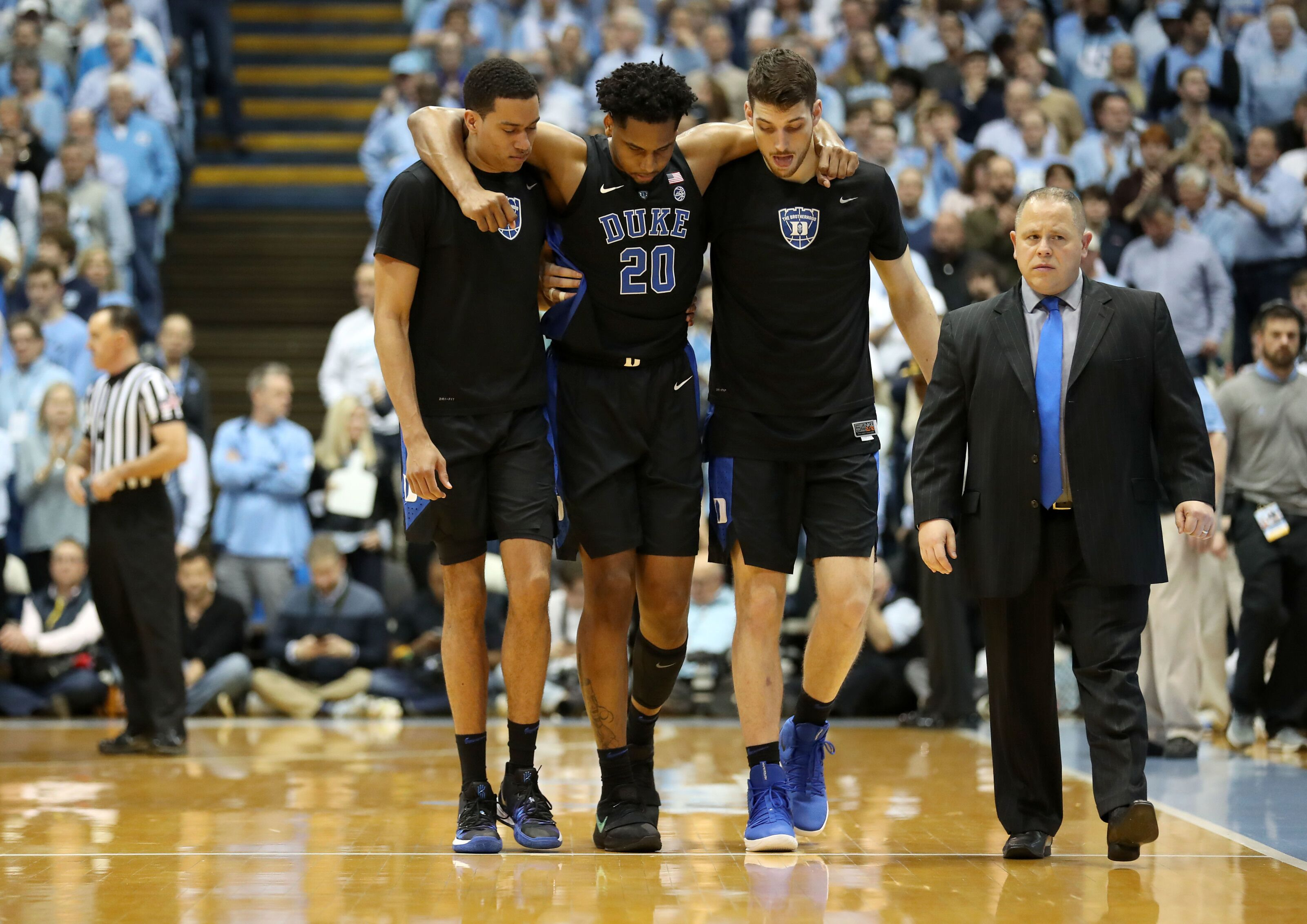 c38bd51af Duke Basketball: Marques Bolden ruled out for the ACC Tournament
