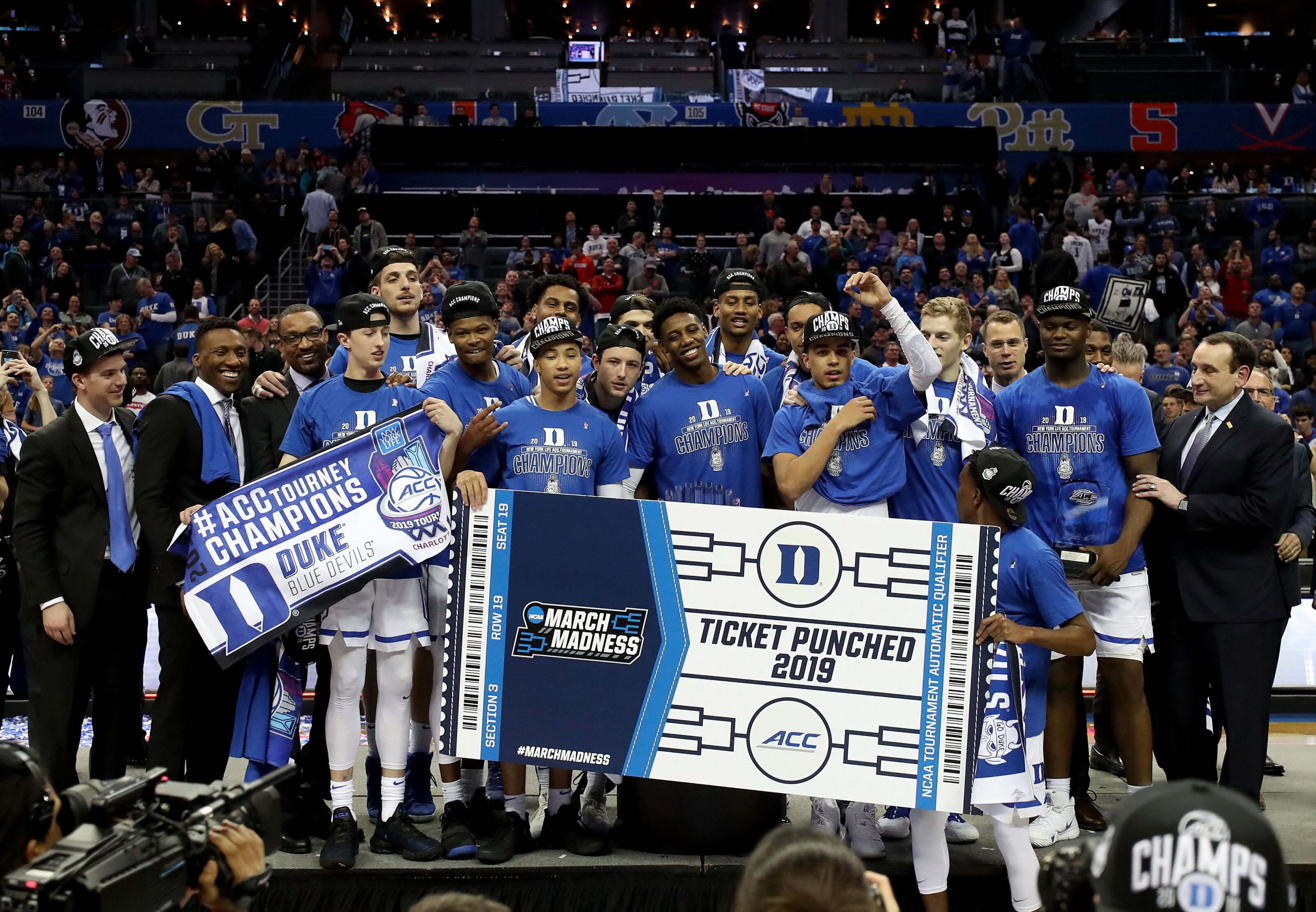 Duke Basketball: Blue Devils are No. 1 overall seed in NCAA Tournament