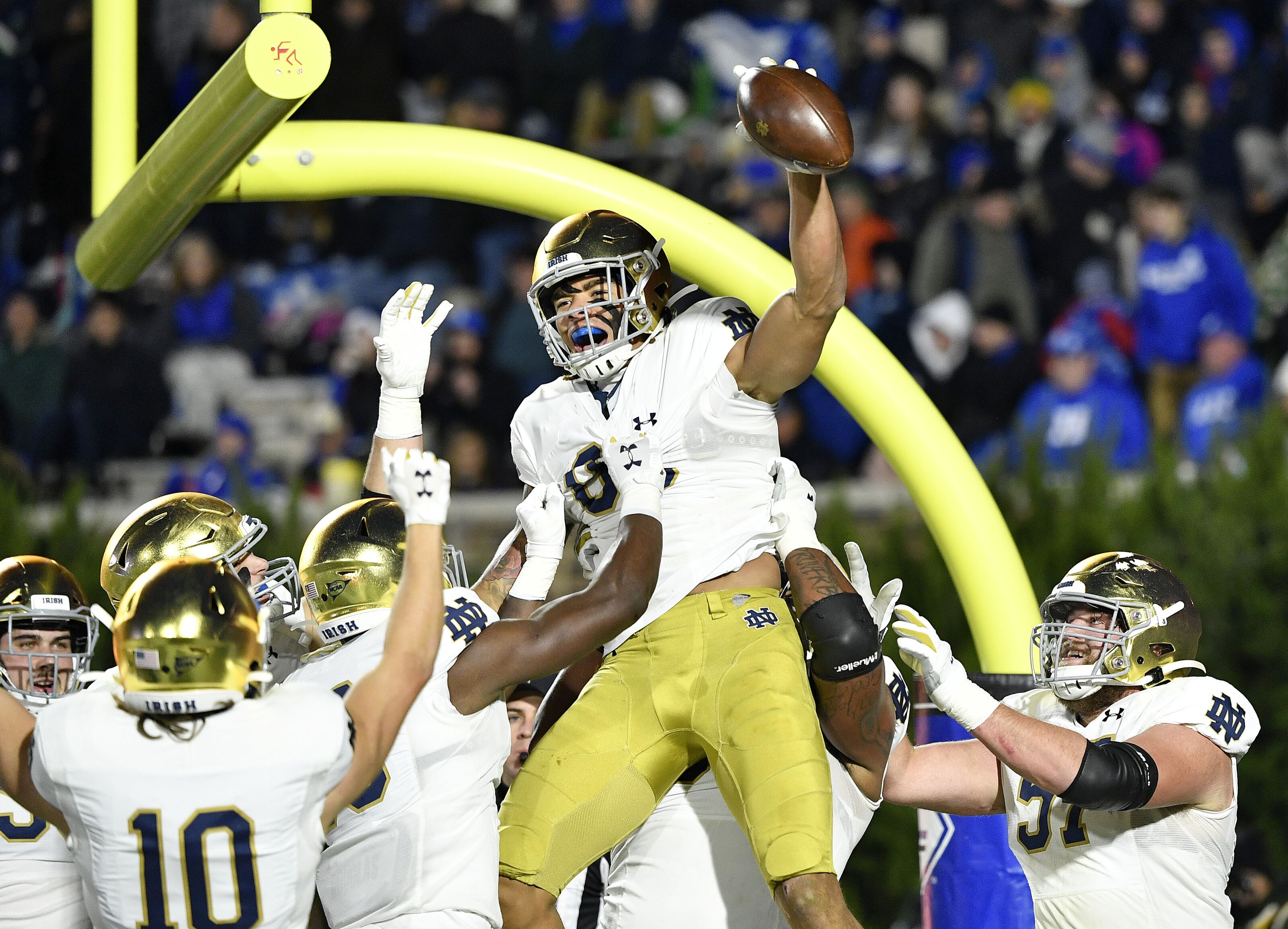 Duke gets embarrassed again as Notre Dame invades Wallace Wade