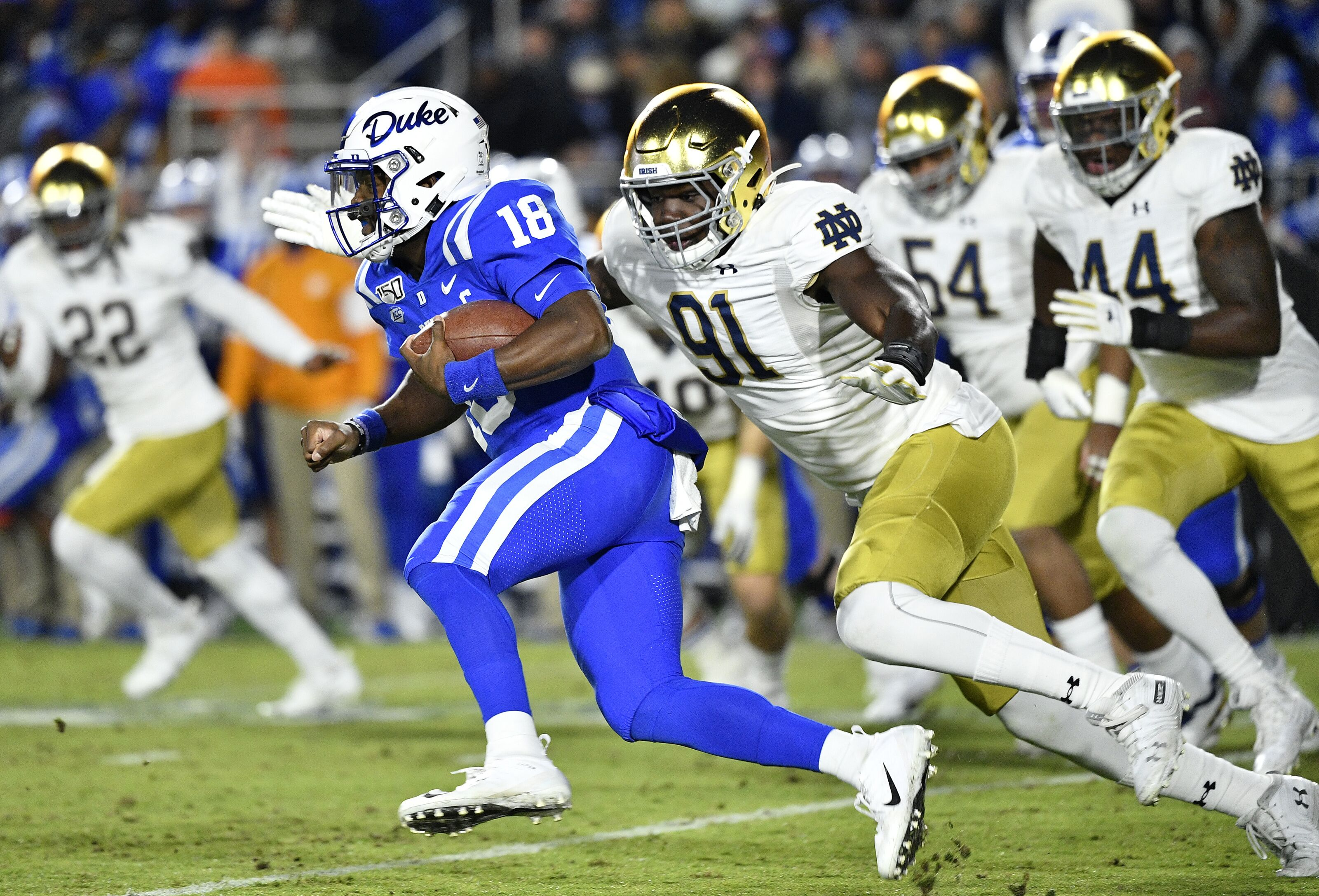 Duke Football on outside looking in of latest ESPN bowl projections