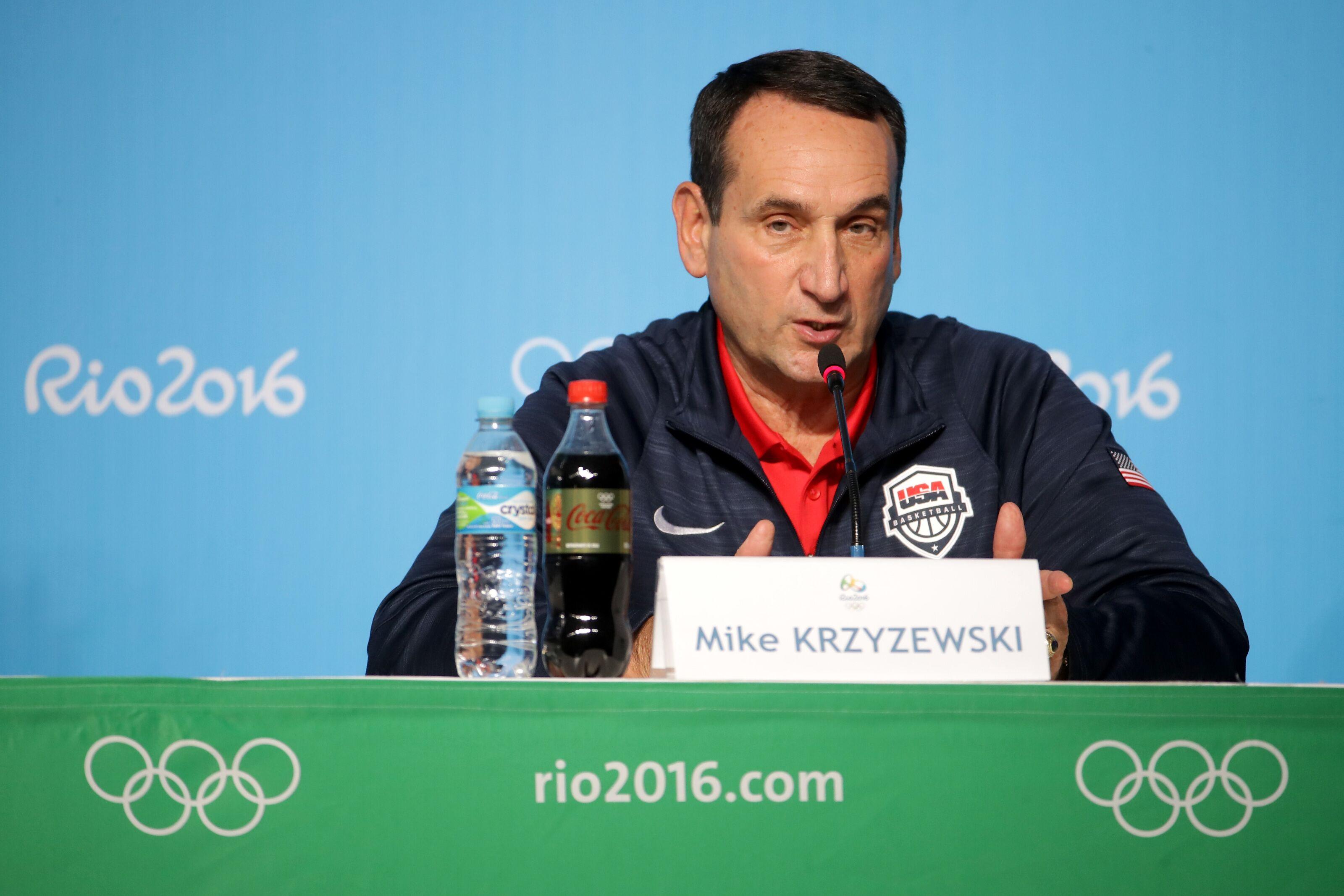 Team USA's loss shows Mike Krzyzewski is the best basketball coach