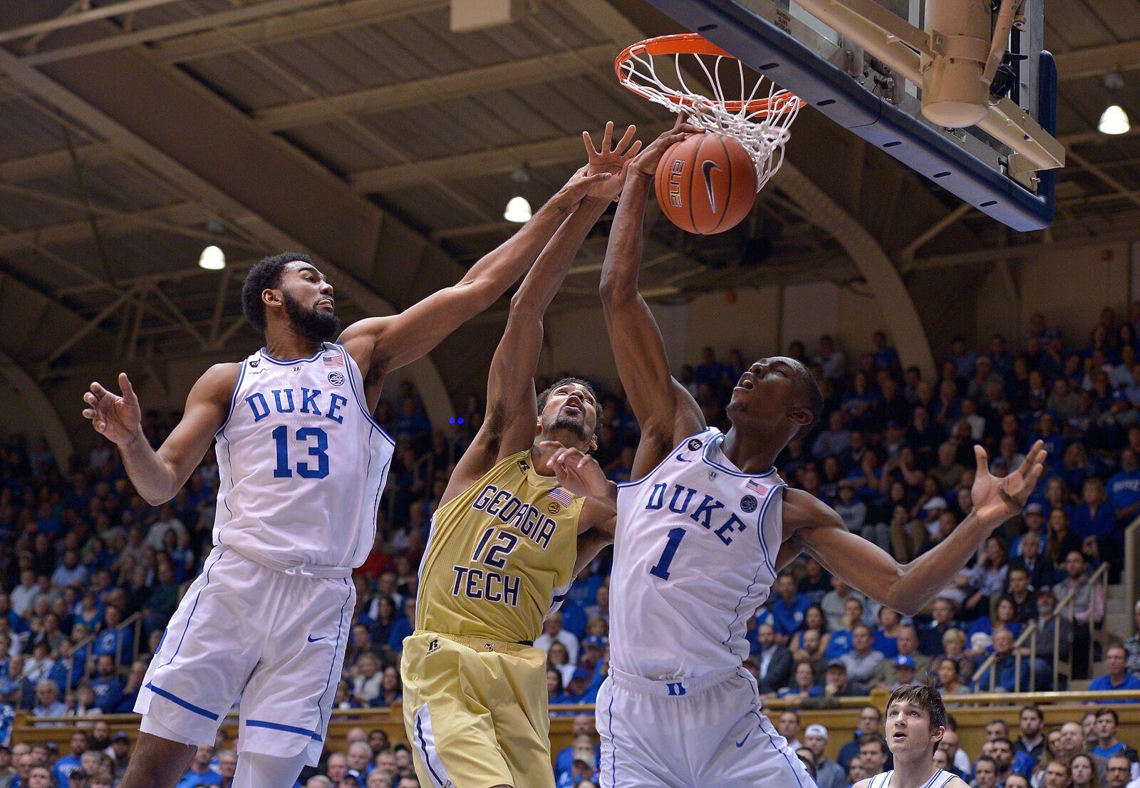 37e04122b47 Duke in the NBA: Giles Stars as Lone Duke Big in Kings Frontcourt