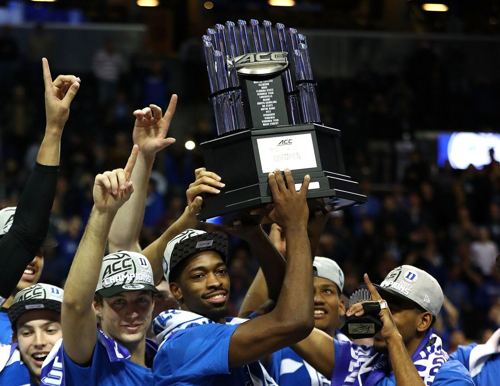 Duke Basketball Acc Tournament Returning To Cities Where Duke Has Won