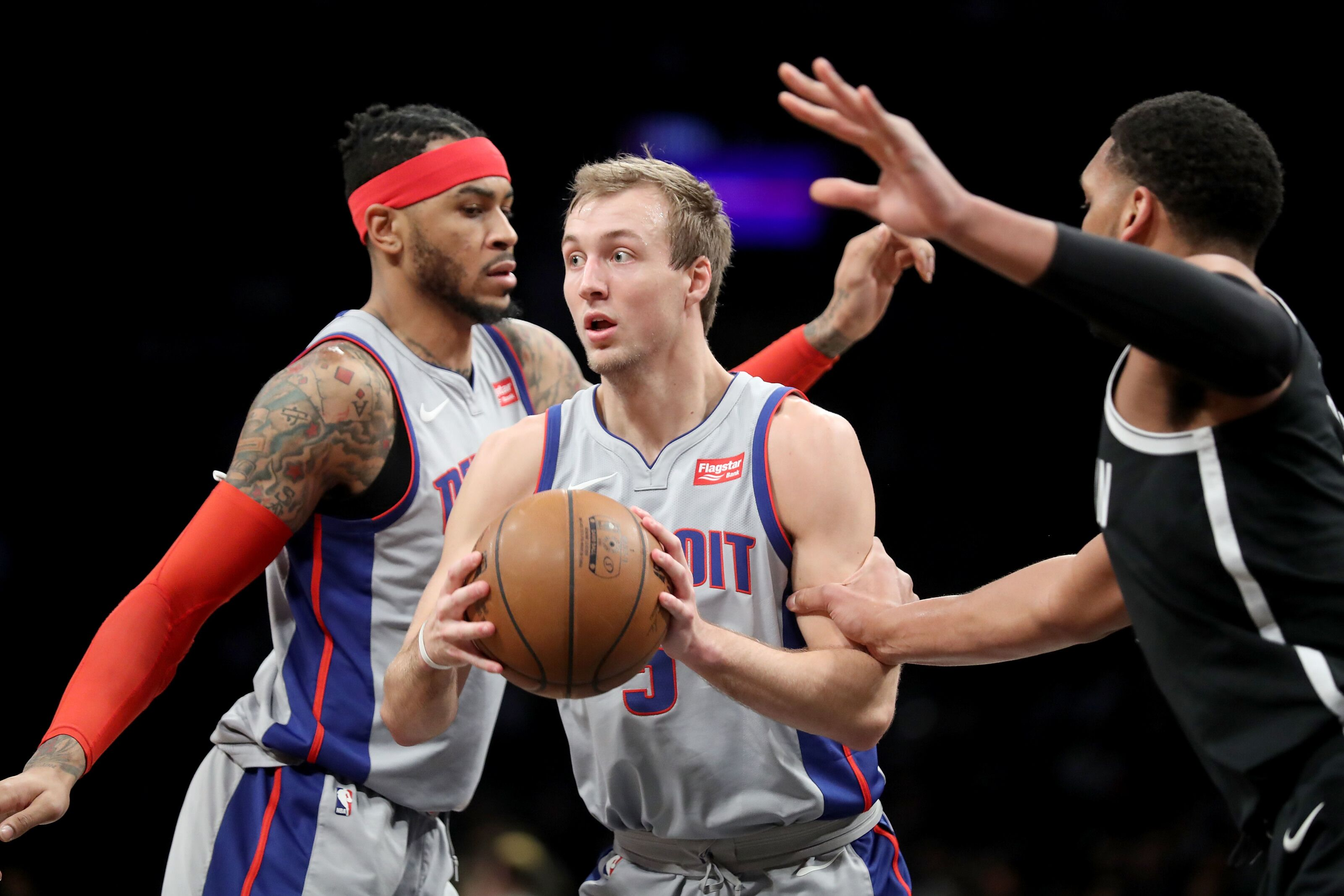 1bd2baa8518f Duke in the NBA  Luke Kennard out with a shoulder injury
