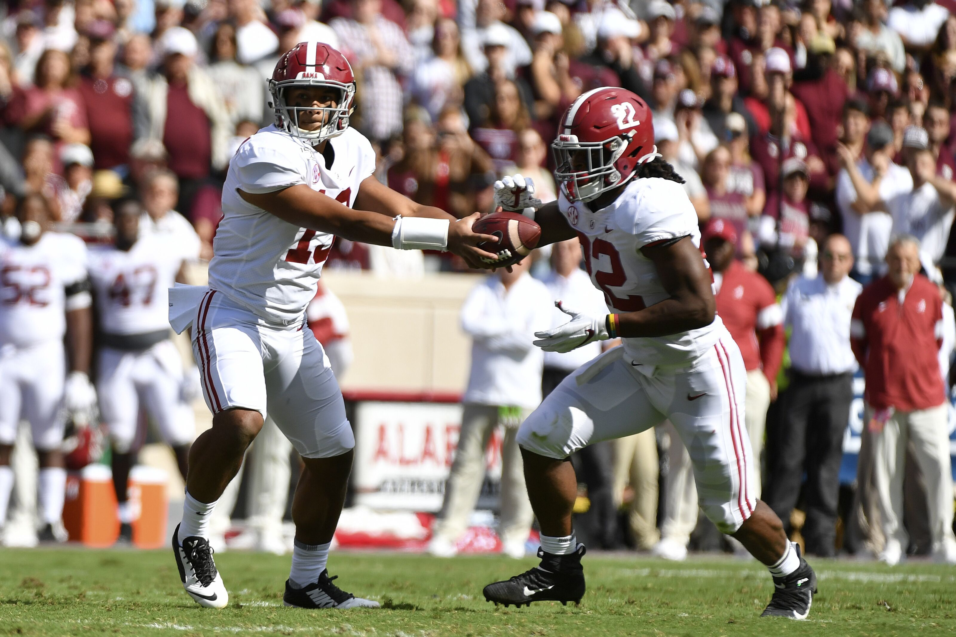 Several improvements key to Alabama Football road win over Texas A&M
