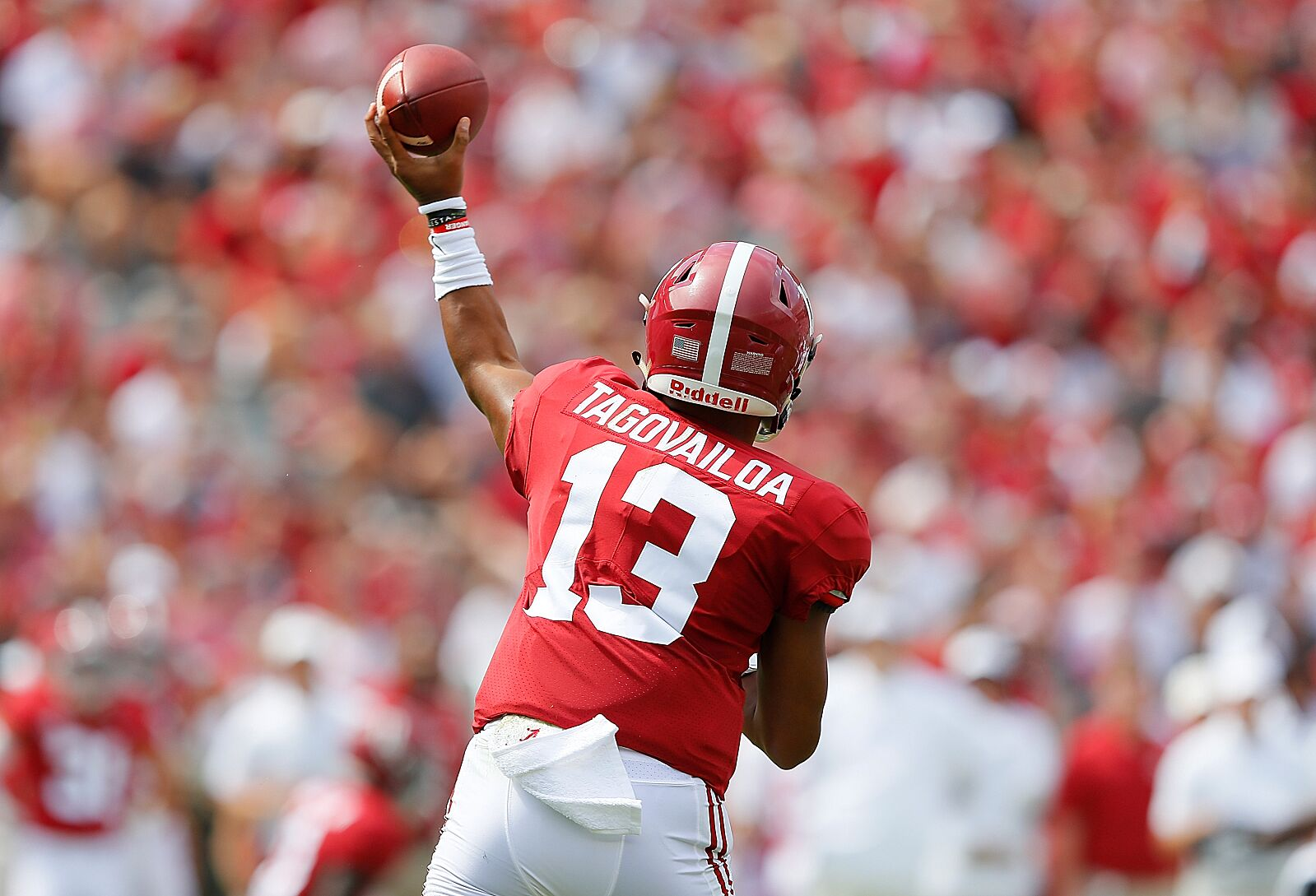 Alabama Football Has A Slew Of Receivers Involved In Its
