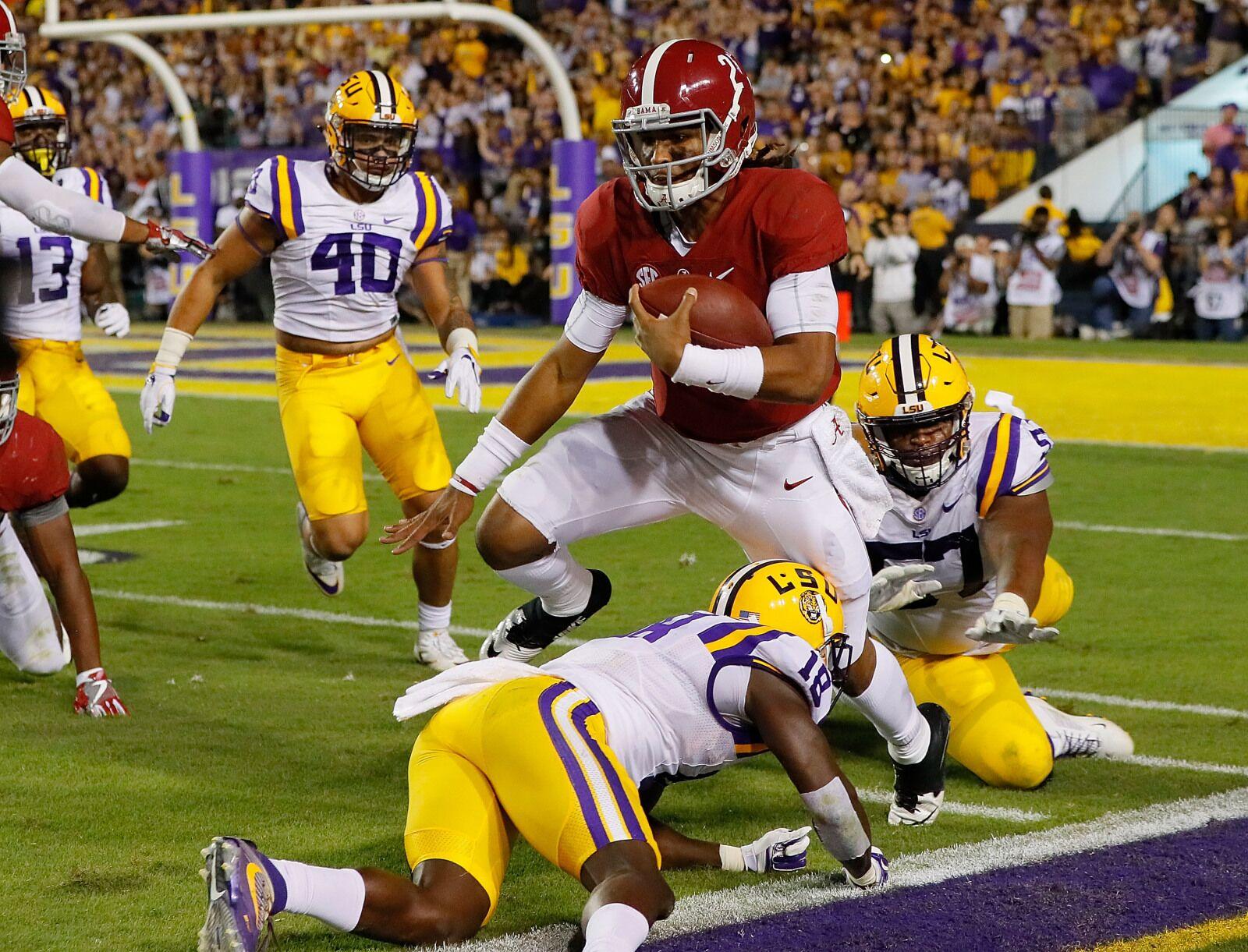 Alabama Football: Bama Hammer staff Tide vs. LSU game ...