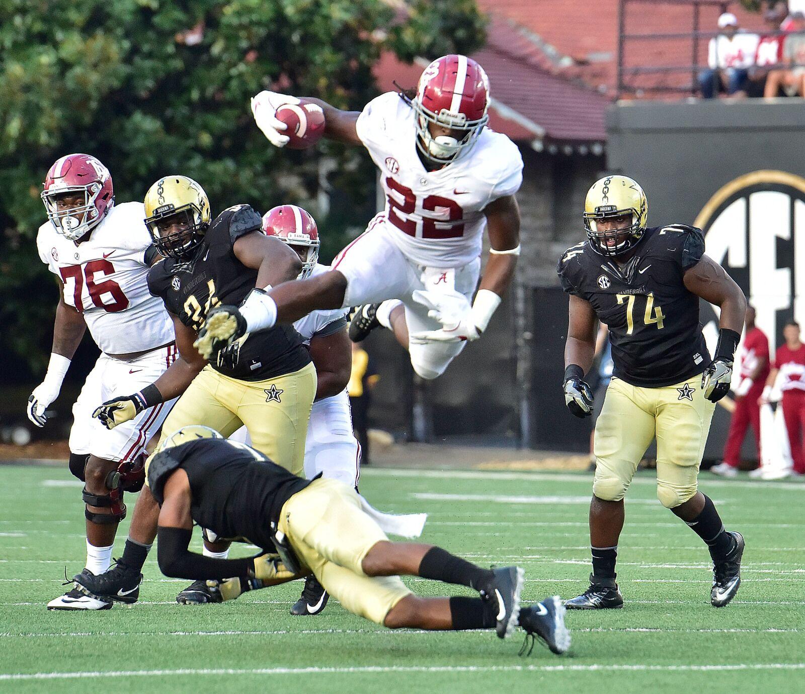 Alabama Football For Najee Harris Football Greatness The Least