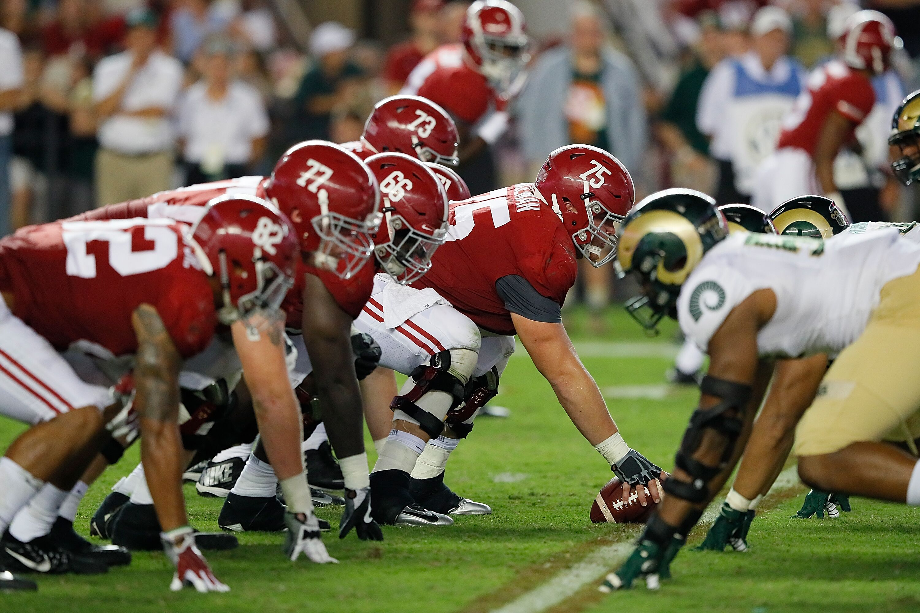 Alabama Football: Offensive questions start with the ...
