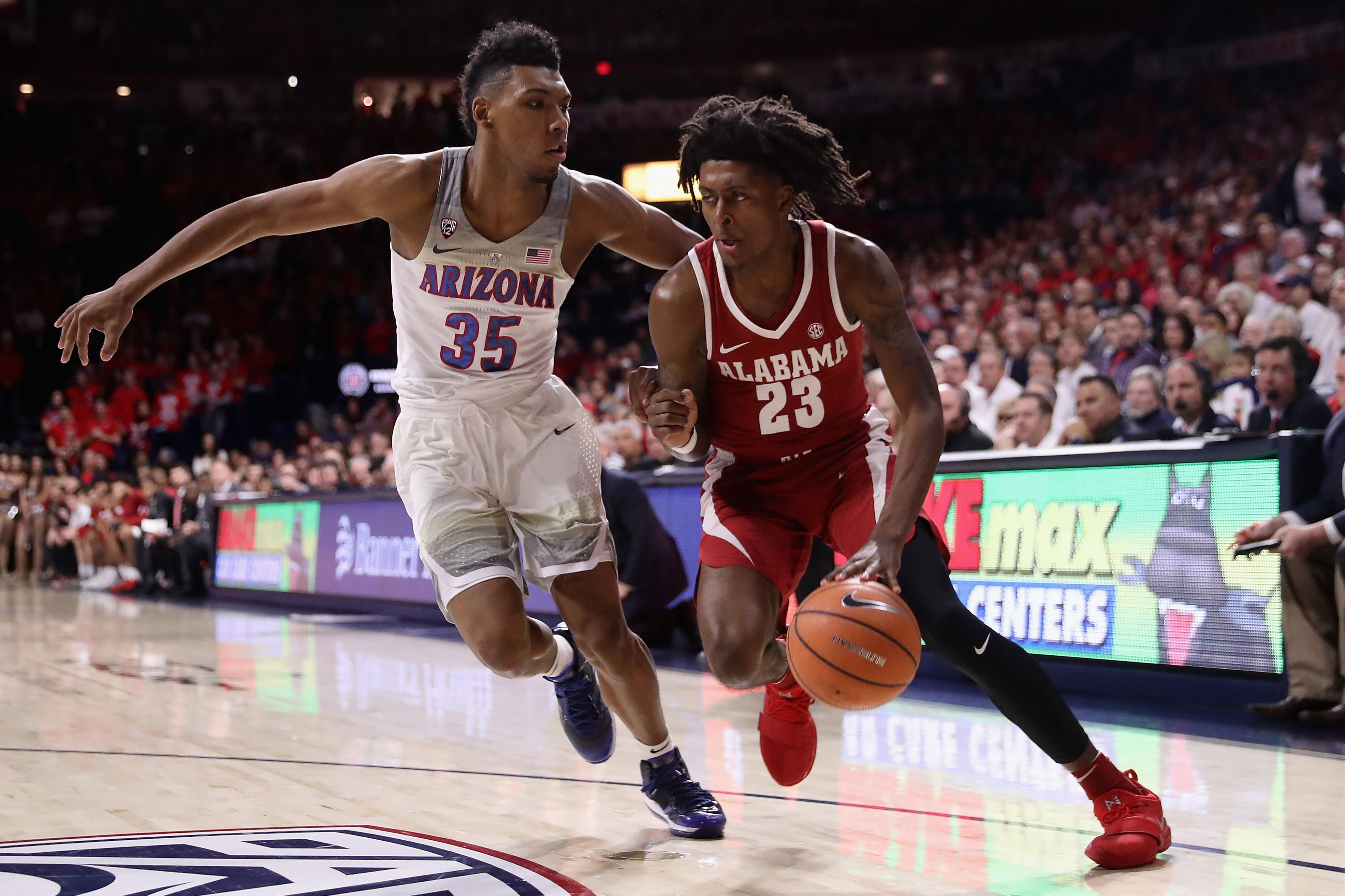 Alabama Basketball: Petty Catches Fire as Tide End Auburn ...